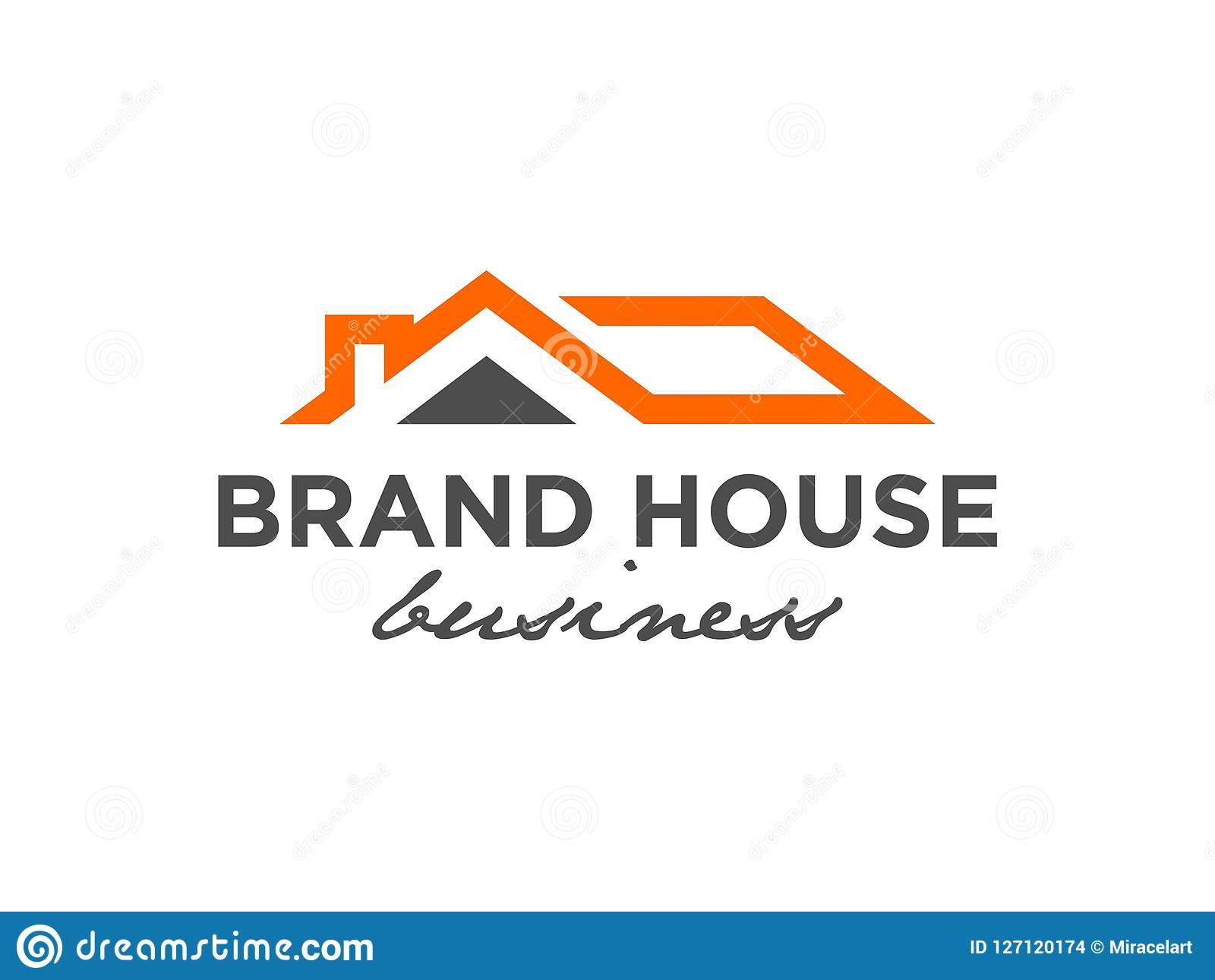 Real Estate Logo Design Inspiration Stock Vector Illustration Of Growth Abstract 127120174