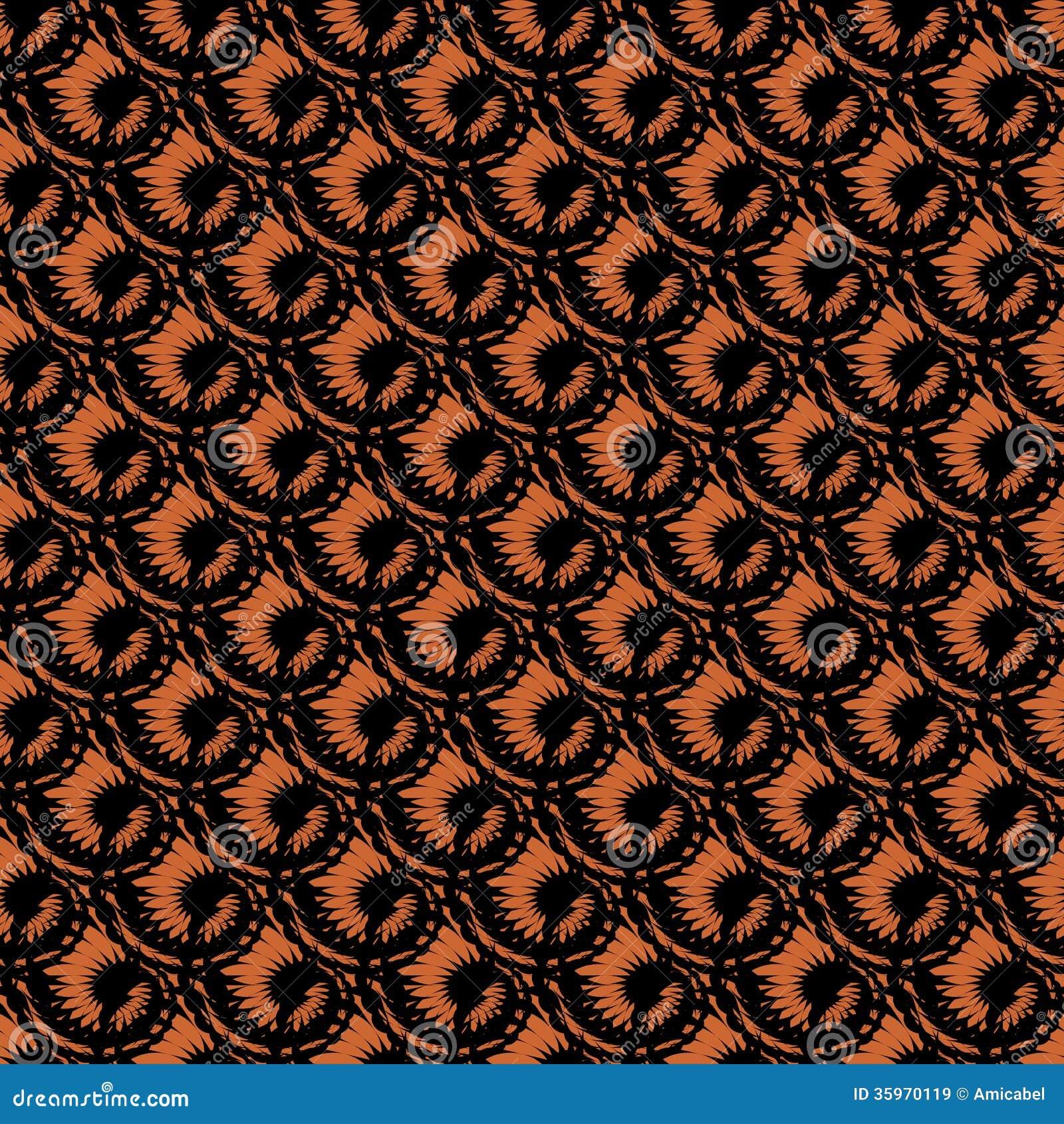 Design seamless spiral diagonal pattern. Trellis b
