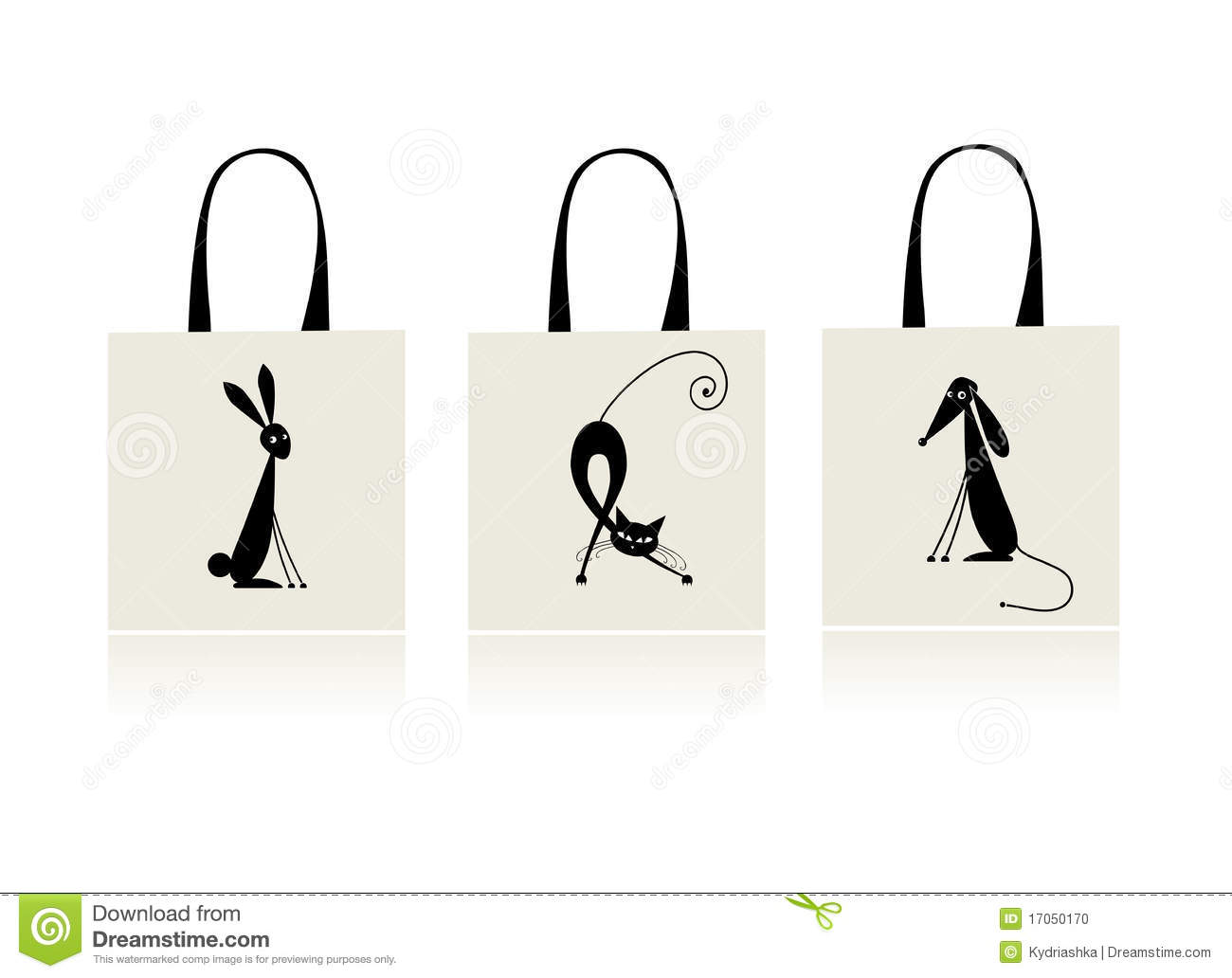 Shopping Bag Dog Cat
