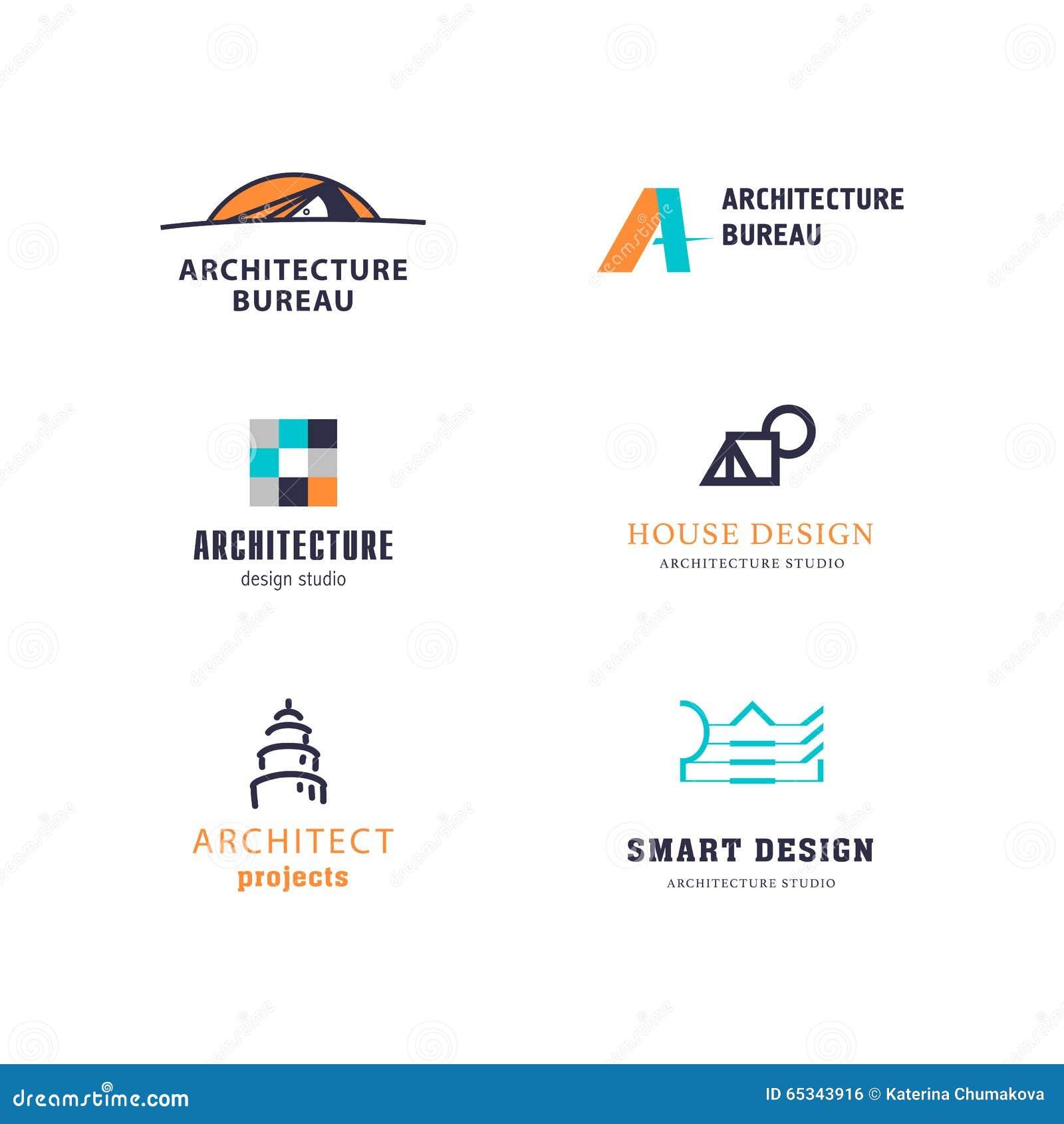 Design studio insignia  stock vector  Illustration of