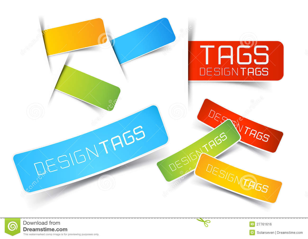 Design Tags and Labels stock vector. Illustration of smart ...