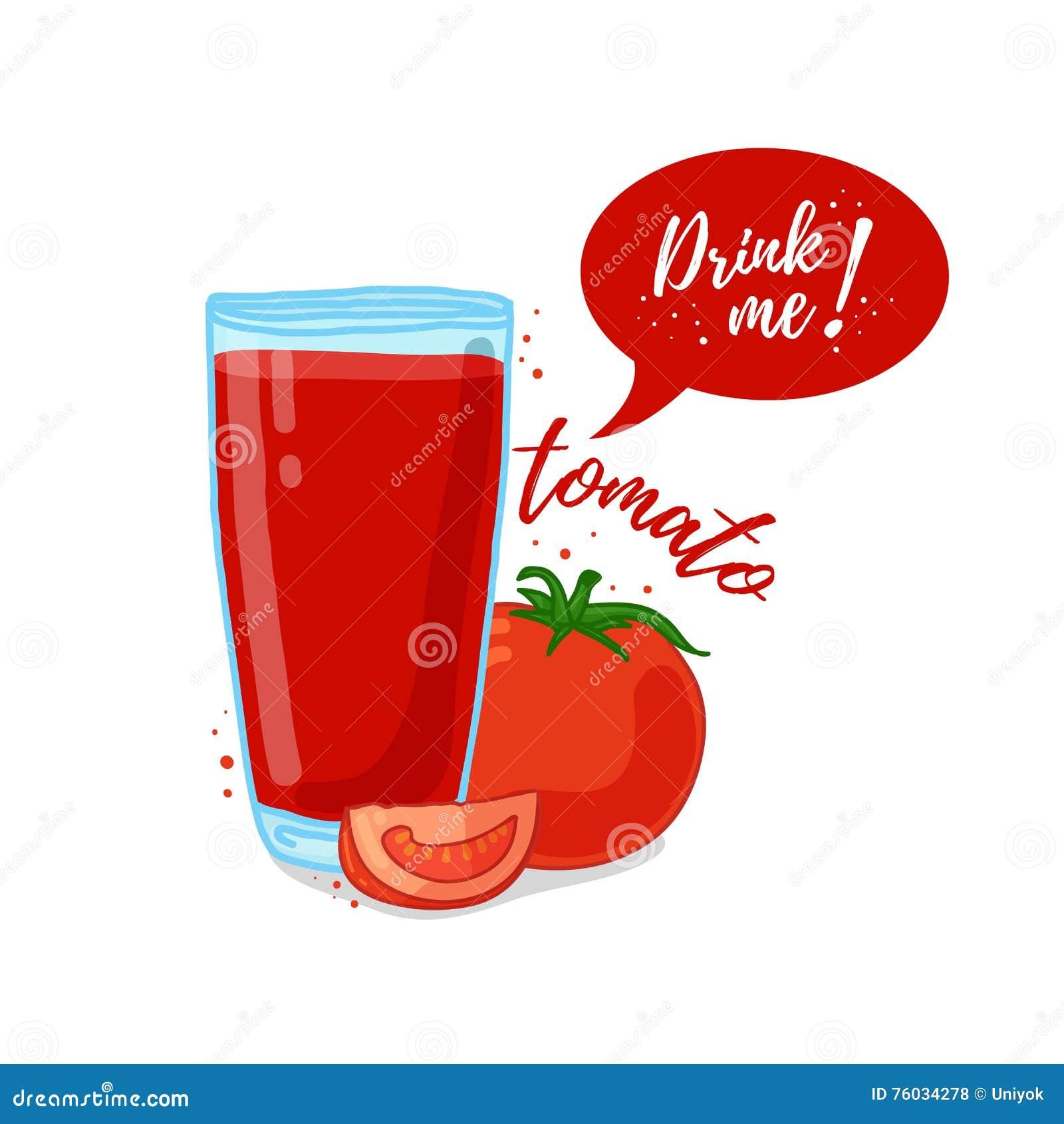 Vegetable Drink Vector Cartoon Vector Cartoondealer Com