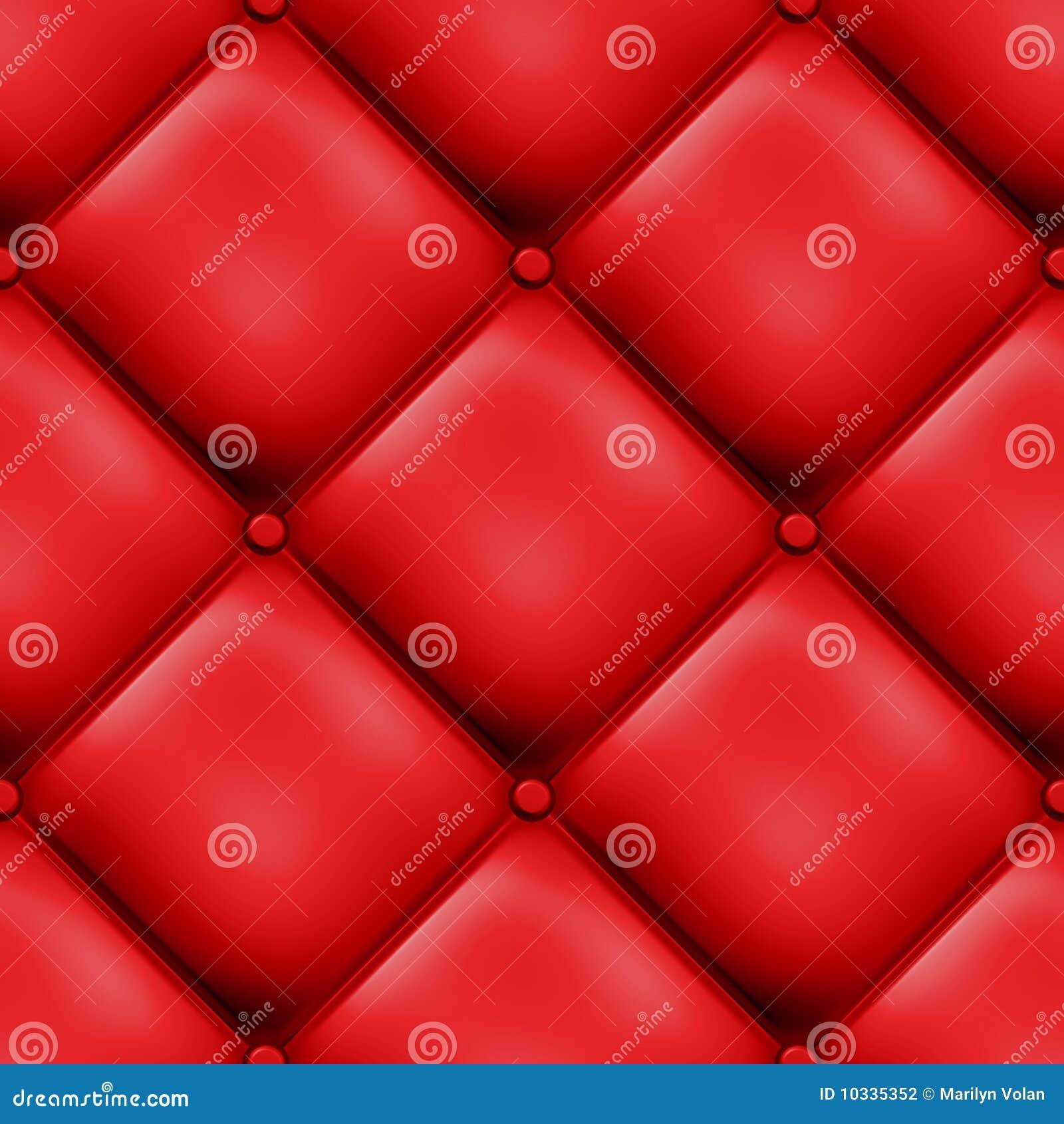Design vadderat rött seamless