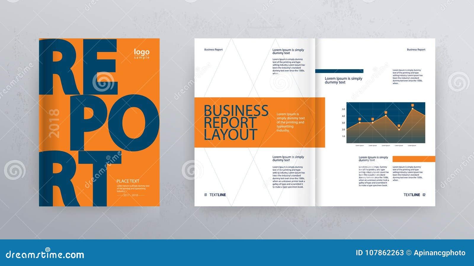 company profile design layout vectors