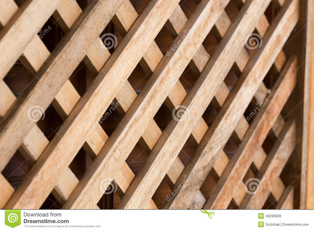 Design Of Wood Wall Panel Plank Cross Stock Photo Image
