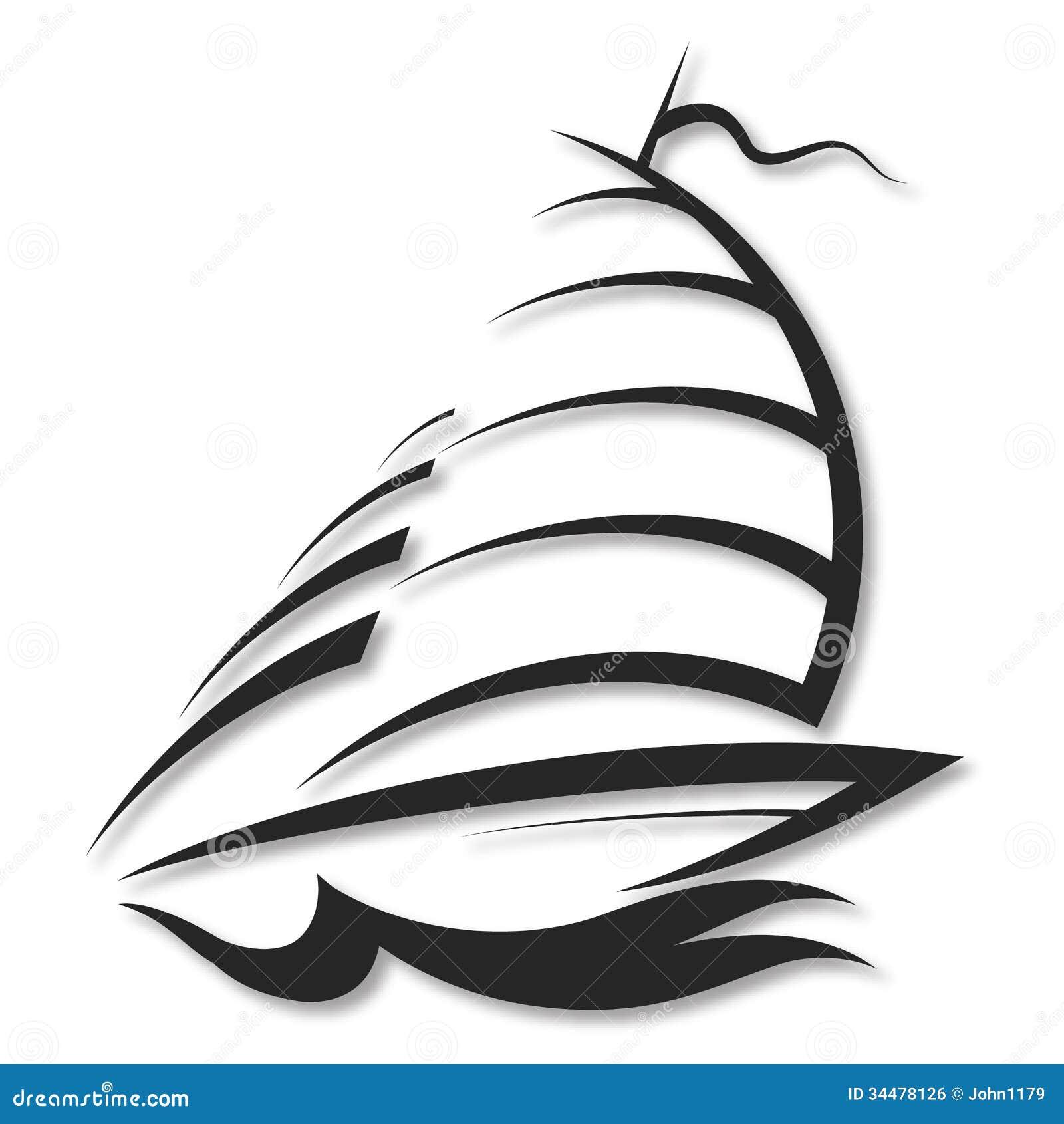 Design Yacht Royalty Free Stock Image - Image: 34478126