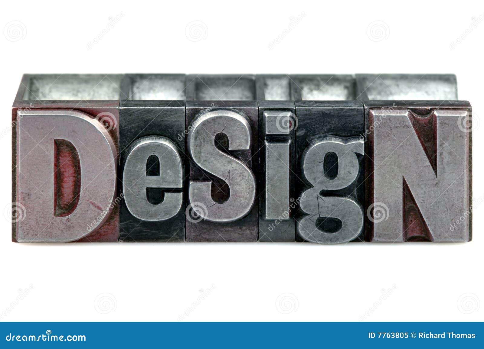 Designboktryck