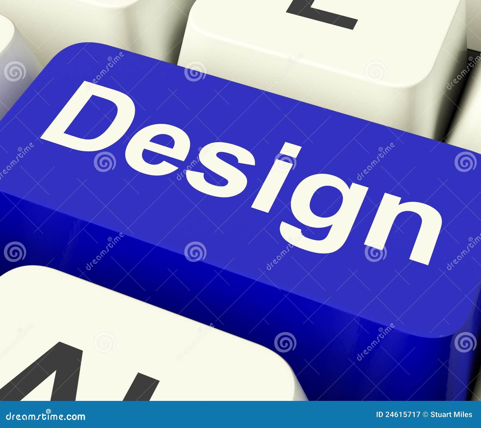 Designdatortangent som direktanslutet betyder idérikt konstverk