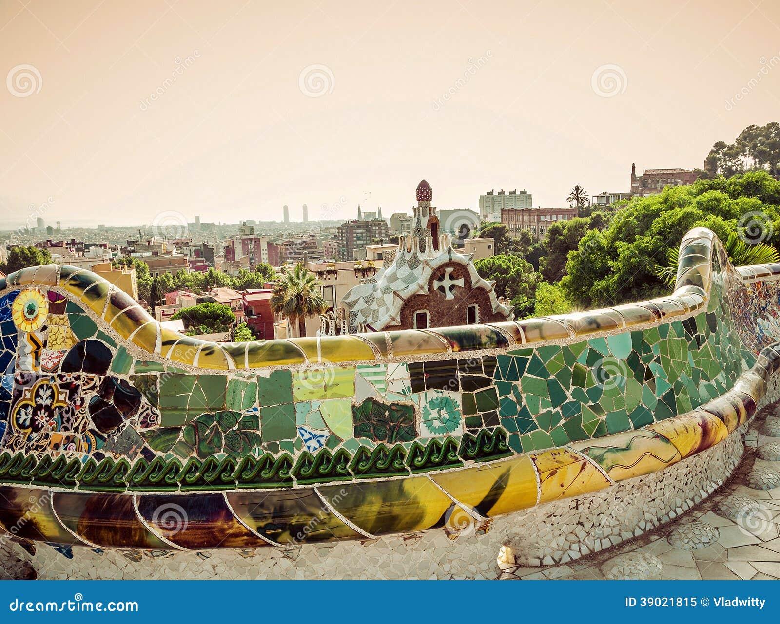 Designed by Antoni Gaudi in Barcelona