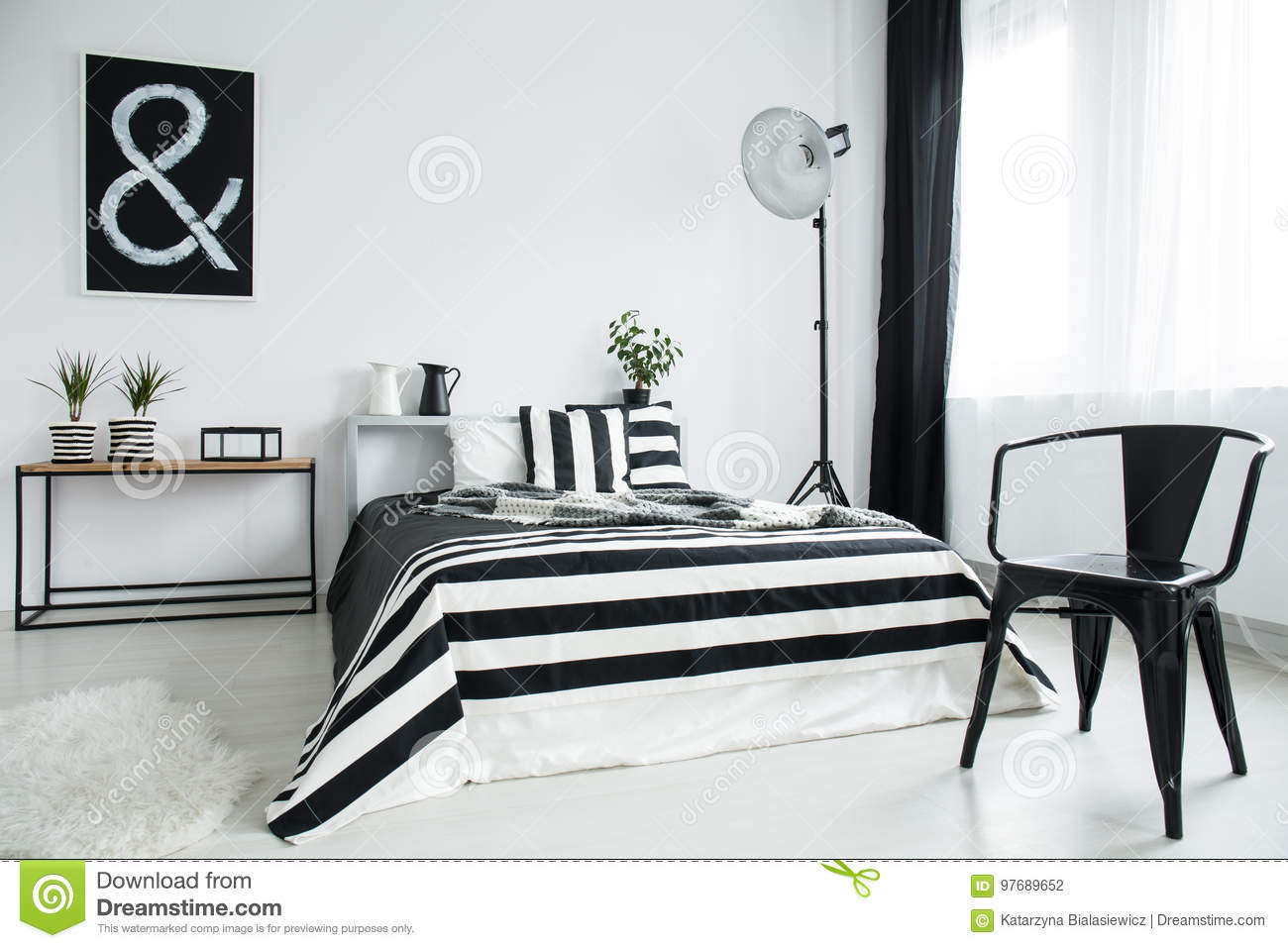 Designed black chair stock photo. Image of copy, king - 97689652