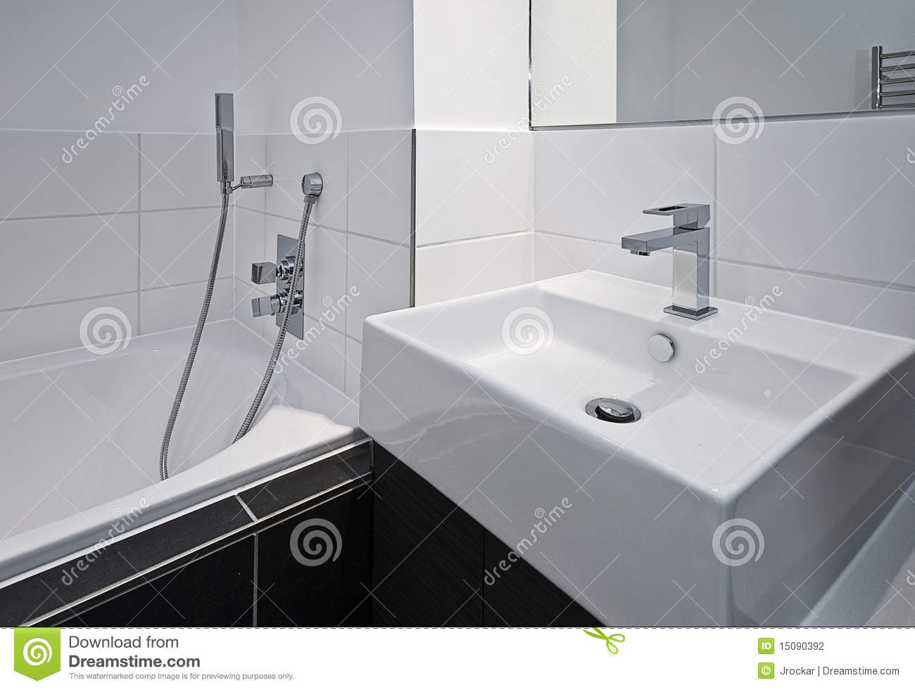designer bathroom appliances stock photography - image: 15090392