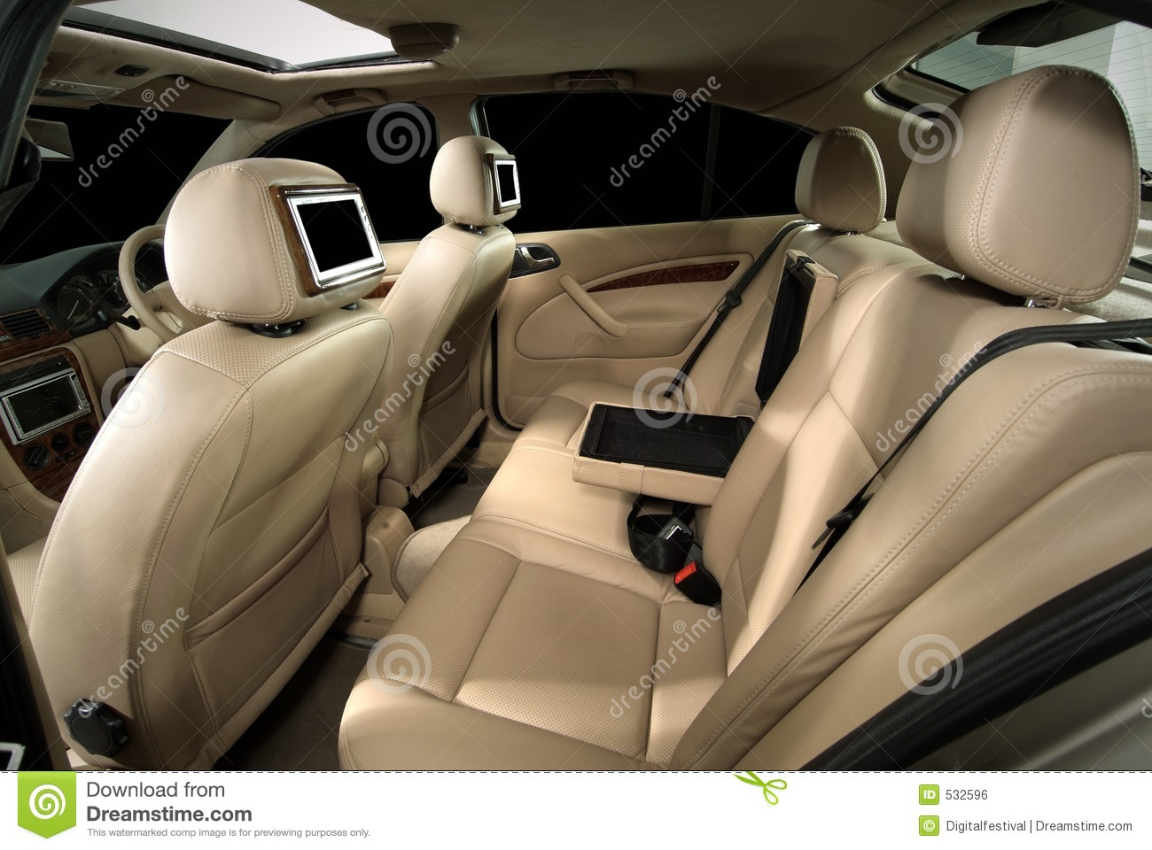 designer car interior customisation stock photo image of insurance limo 532596. Black Bedroom Furniture Sets. Home Design Ideas