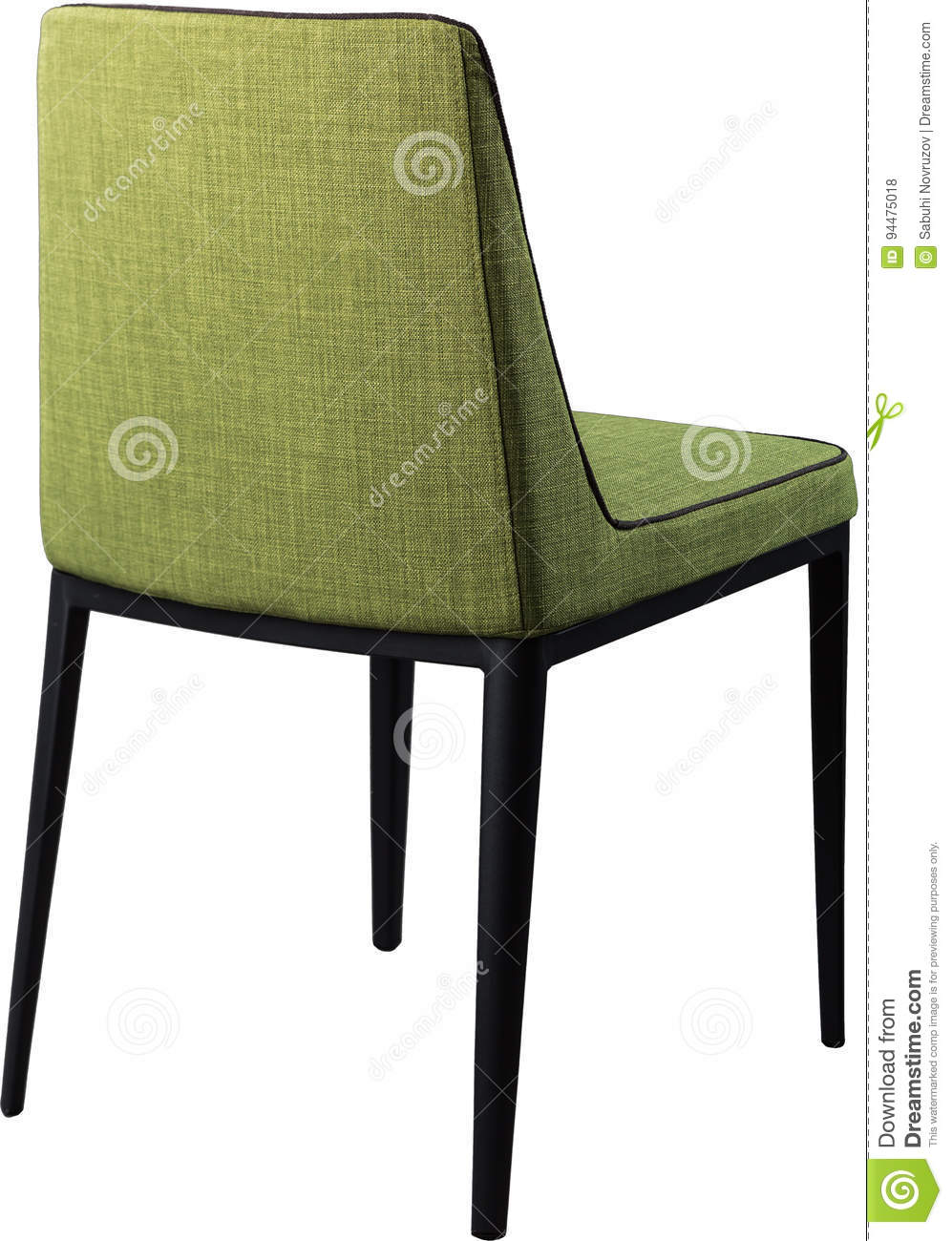 Brilliant Designer Green Dining Chair On Black Metal Legs Modern Soft Caraccident5 Cool Chair Designs And Ideas Caraccident5Info