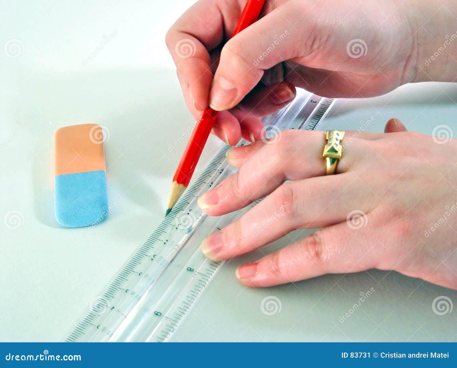 designer hands stock image image of close eraser white 83731. Black Bedroom Furniture Sets. Home Design Ideas