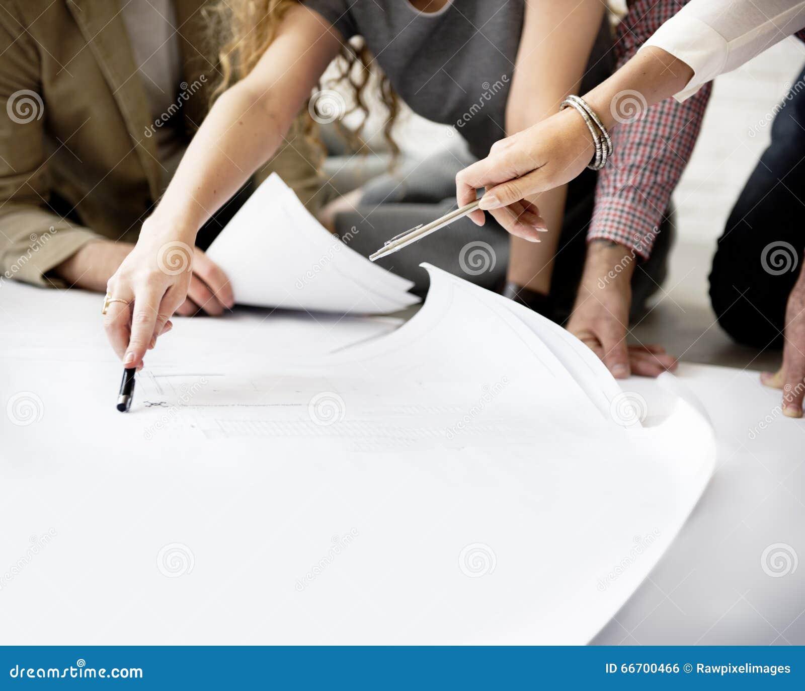 Designer-Thinking Ideas Creative-Plan-Konzept