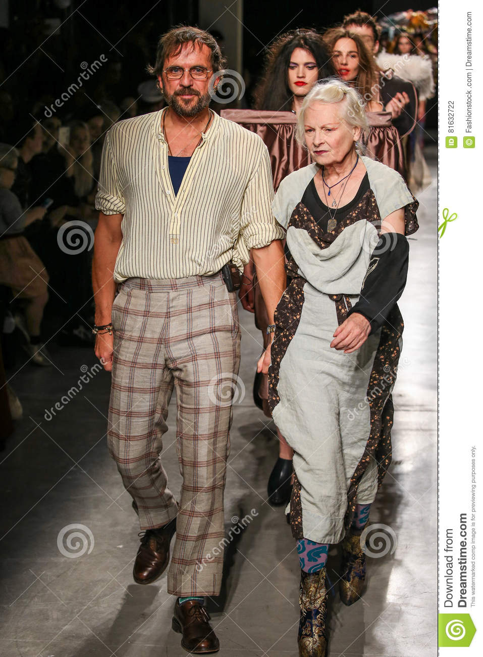 Designers Vivienne Westwood Andreas Kronthaler The Runway During The Vivienne Westwood Show Editorial Photography Image Of Fashion Designers 81632722
