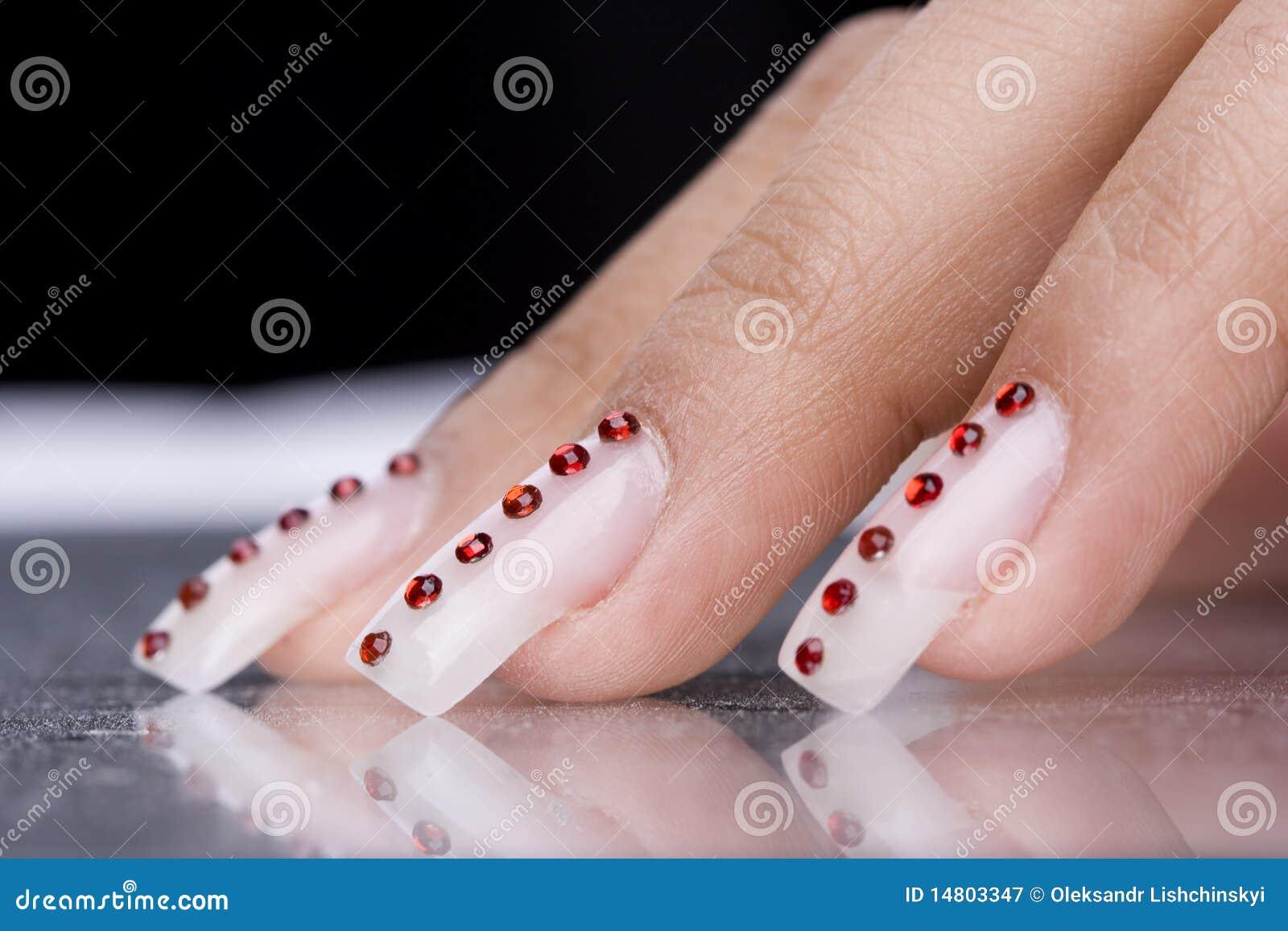 Designfingrar manicure original