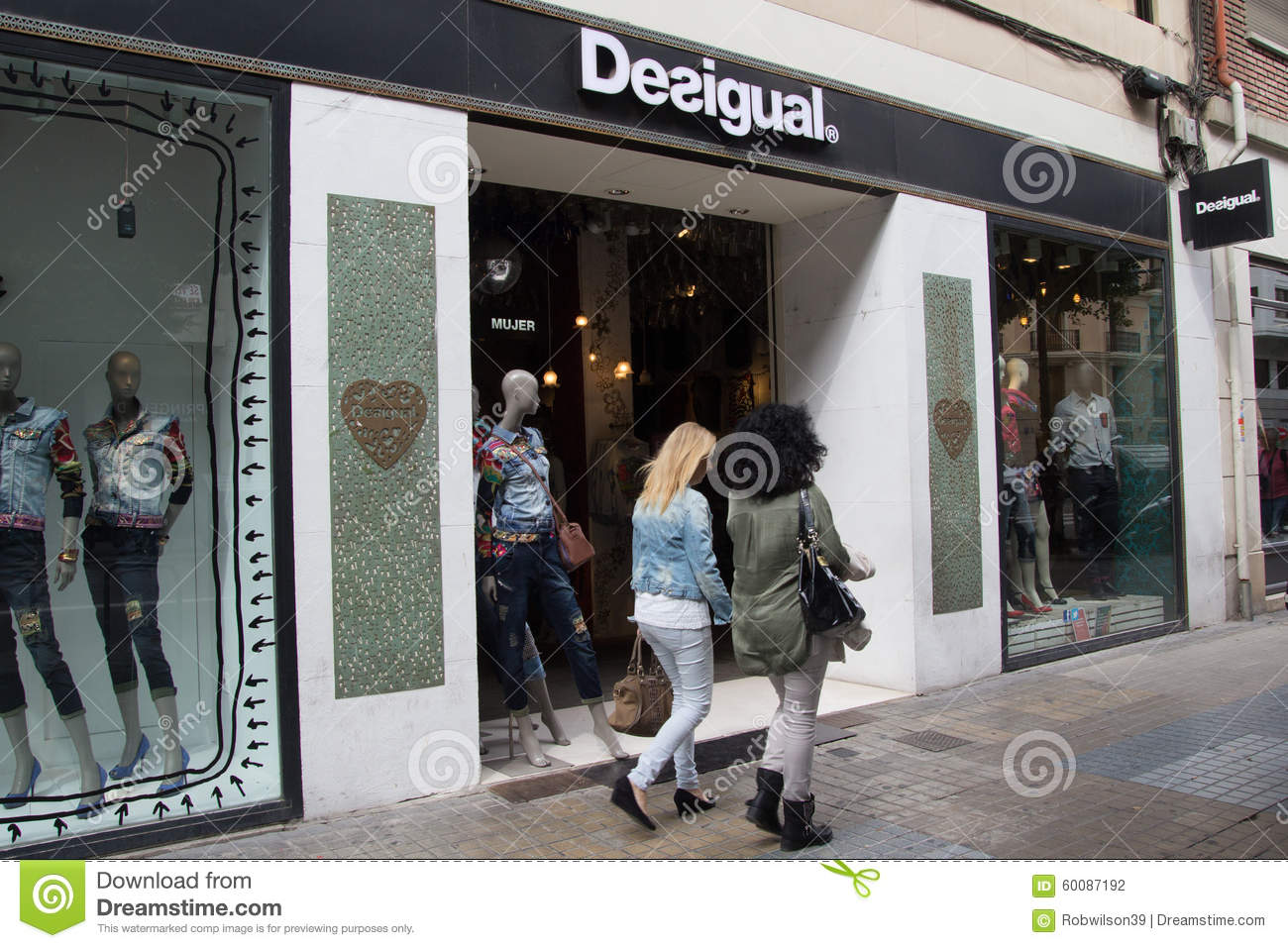 Clothing store in spain