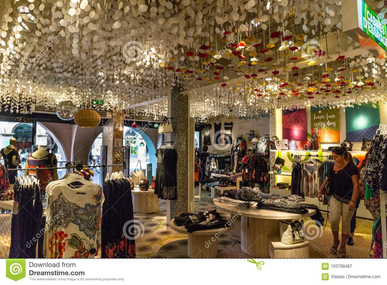 Desigual Store In Strasbourg Editorial Photography