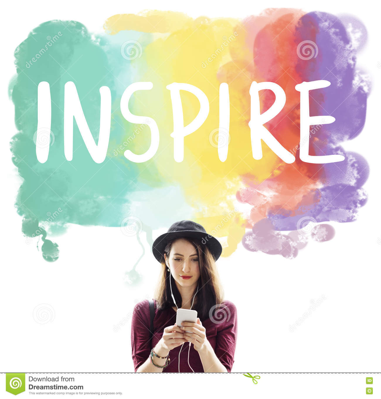 Desire Inspire Goals Follow Your Dreams Concept