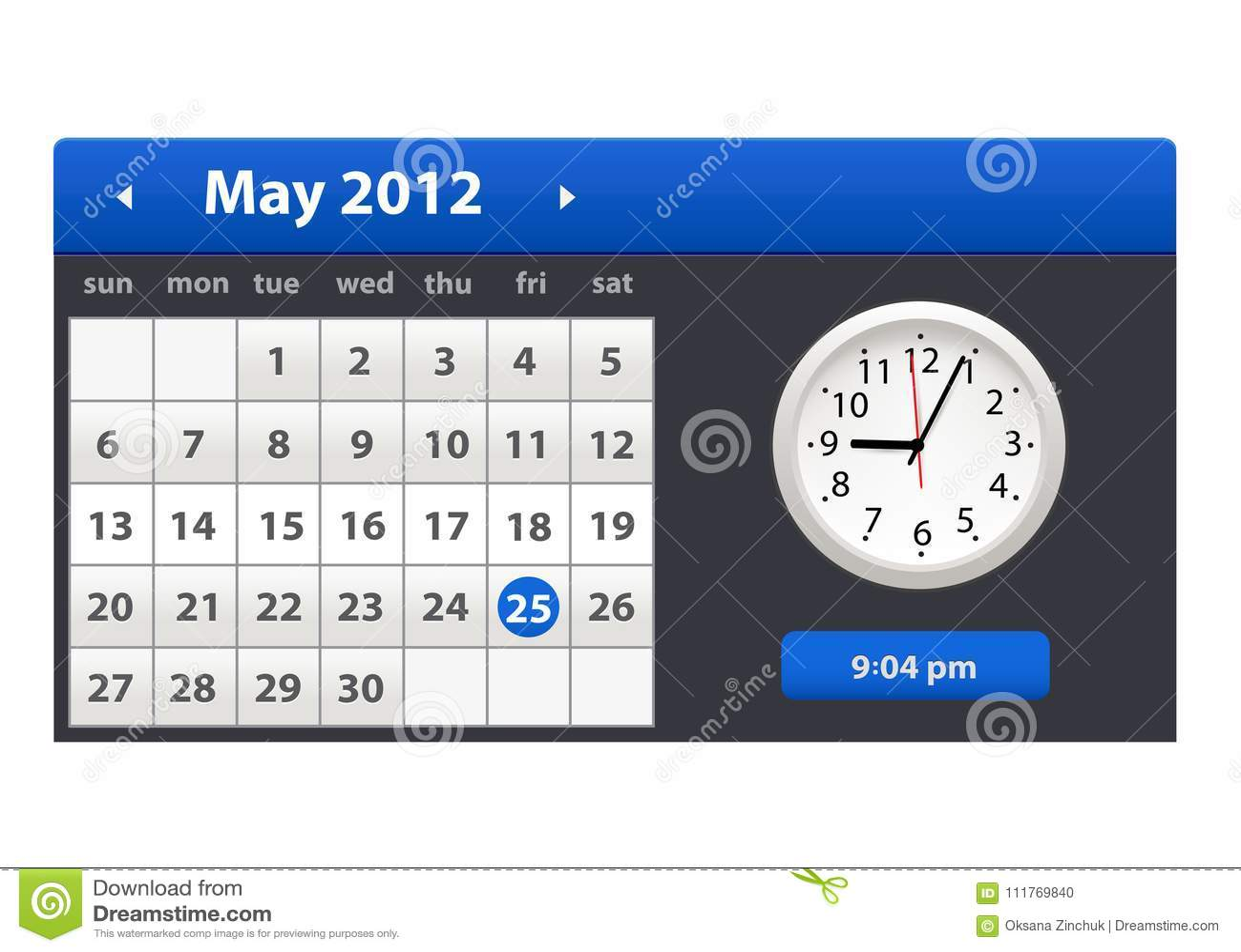 Elegant Desk Calendar Design : Desk calendar simple colorful gradient minimal elegant
