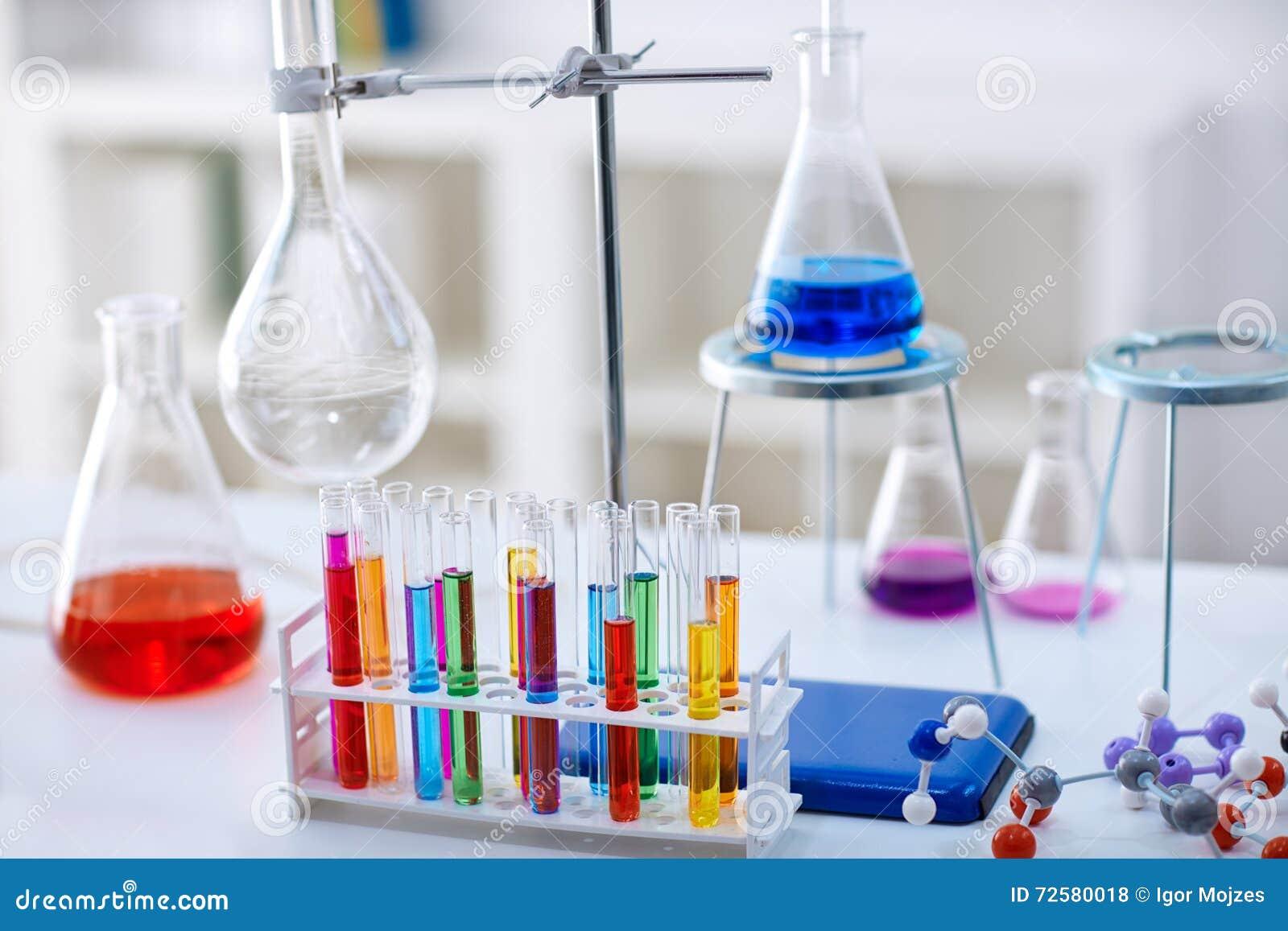 Chemistry Lab Royalty Free Stock Image Cartoondealer Com