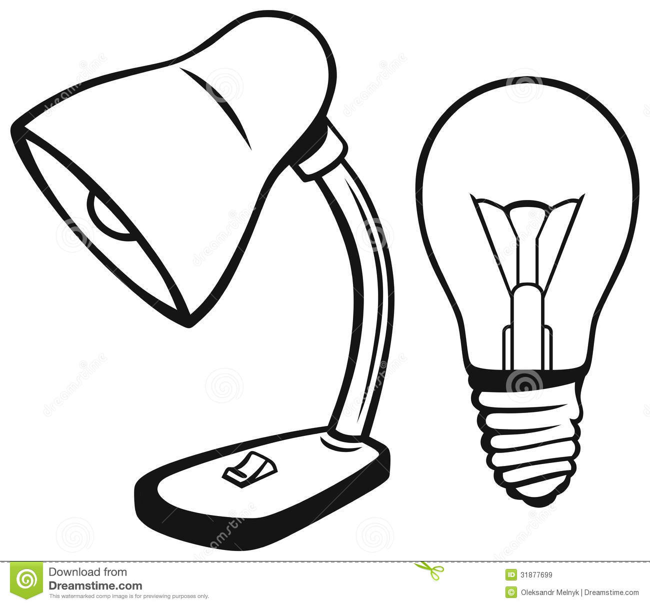 Desk Lamp Royalty Free Stock Images Image 31877699