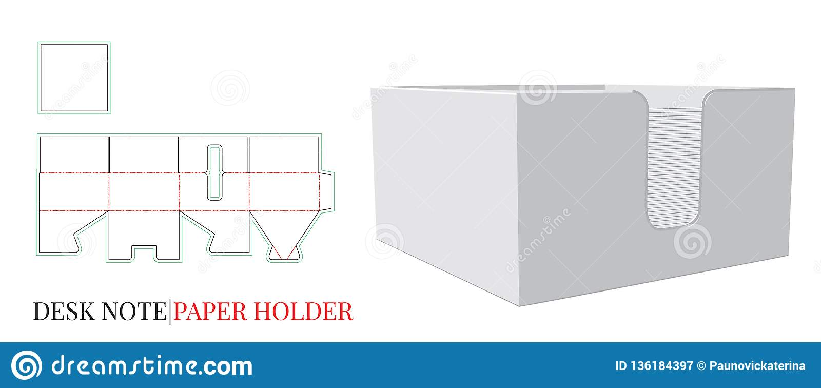 Enjoyable Paper Holder Template With Die Cut Laser Cut Lines Desk Download Free Architecture Designs Terchretrmadebymaigaardcom