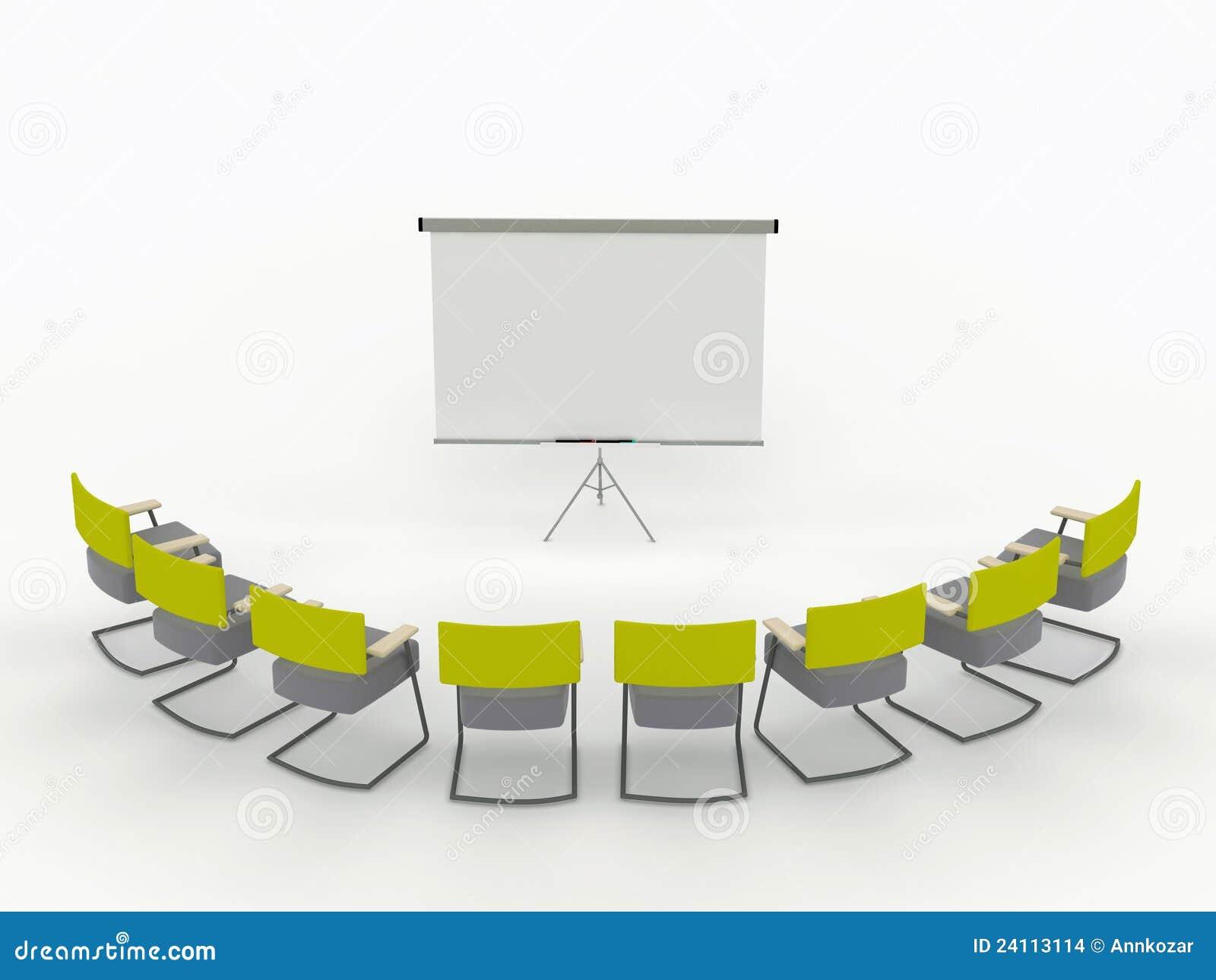 Deska przewodniczy markiera pokoju szkolenie