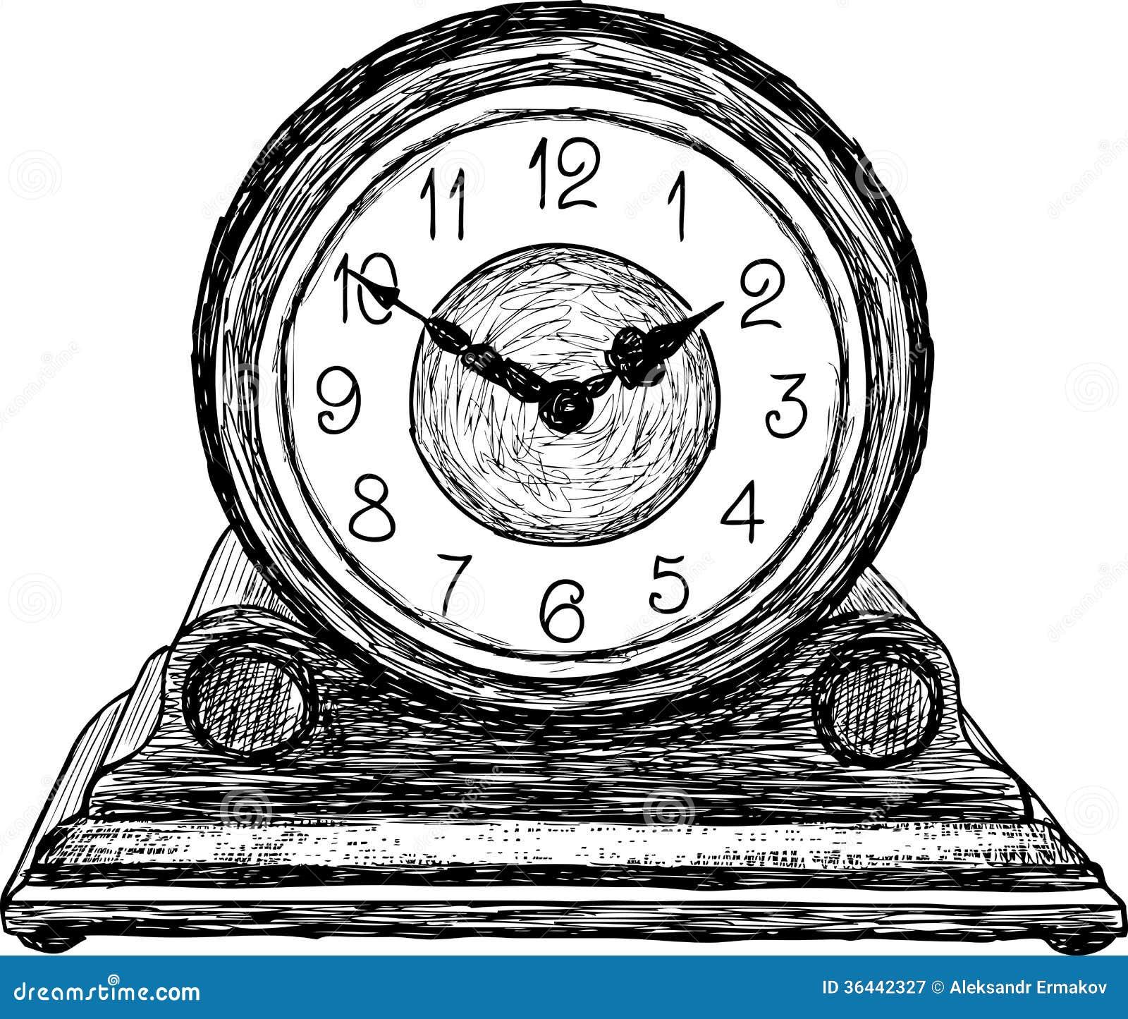 desktop clock stock vector  illustration of timer  countdown