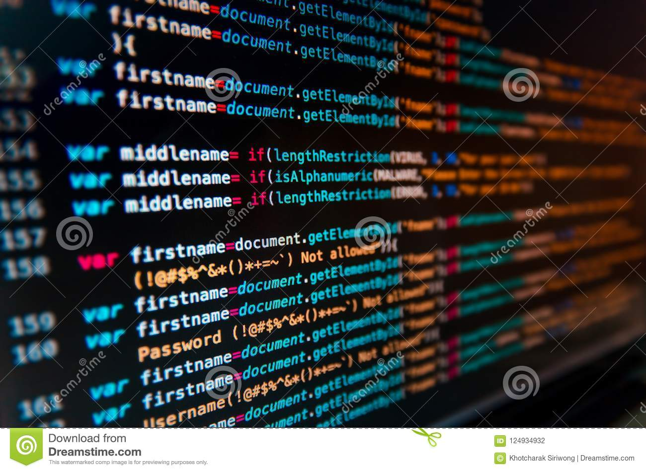 Desktop Source Code And Technology Background Developer Or Programer With Coding Programming Wallpaper By Computer Language