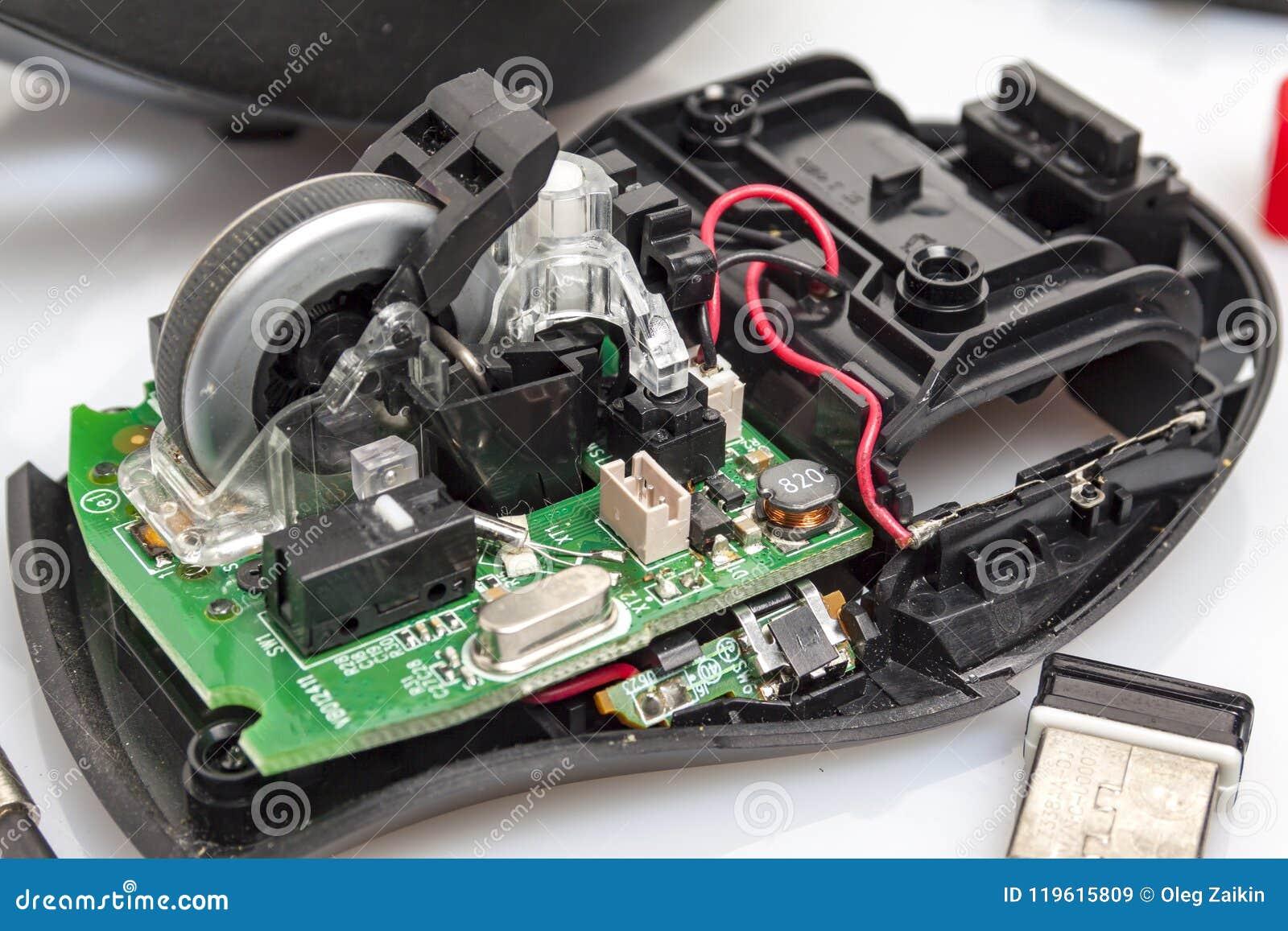 Desmontou o rato do computador