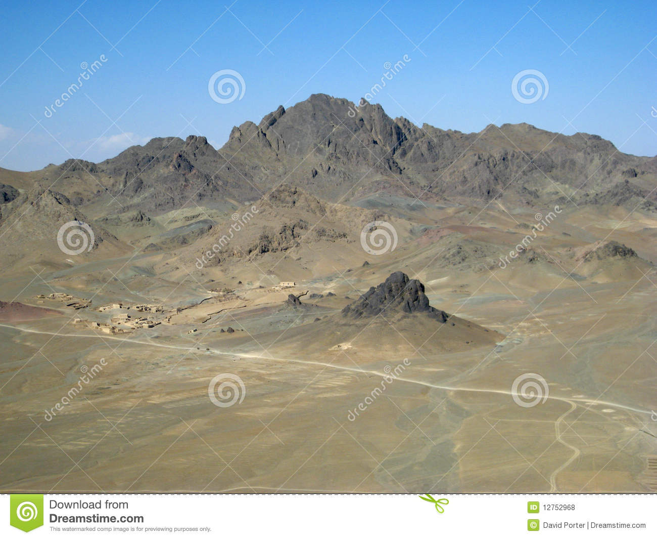 A Desolate Village in Southern Afghanistan