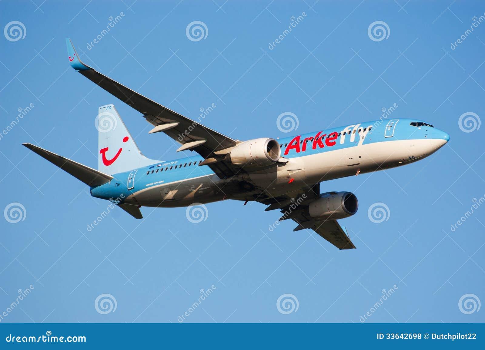 Despegue del aeroplano