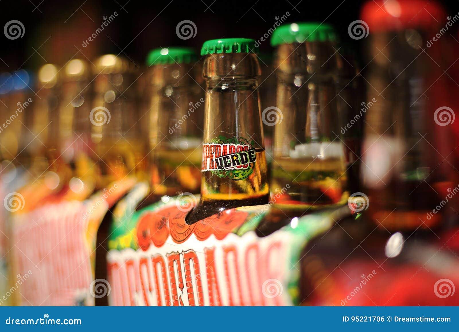 Desperados Beer Row Editorial Photo Image Of Verde Package 95221706