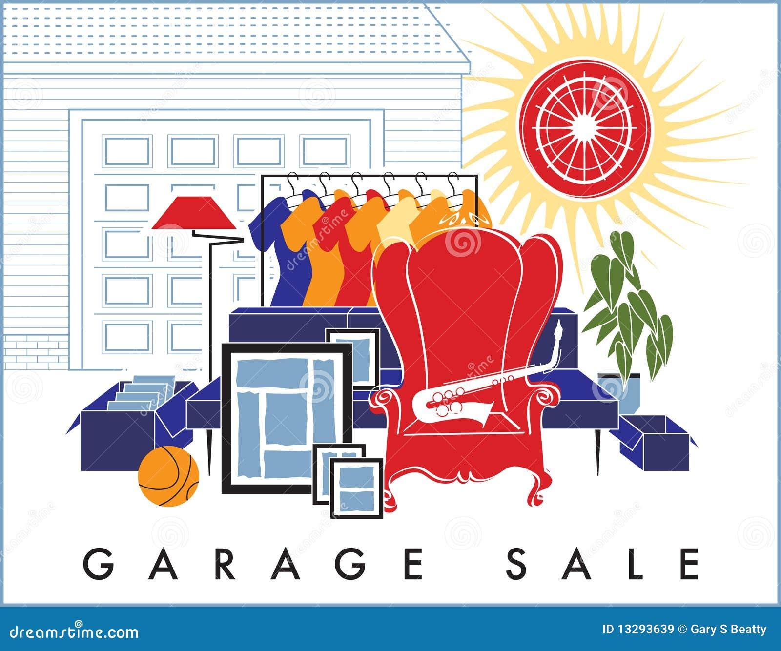 Desperdicios De La Venta De Garage Im 225 Genes De Archivo