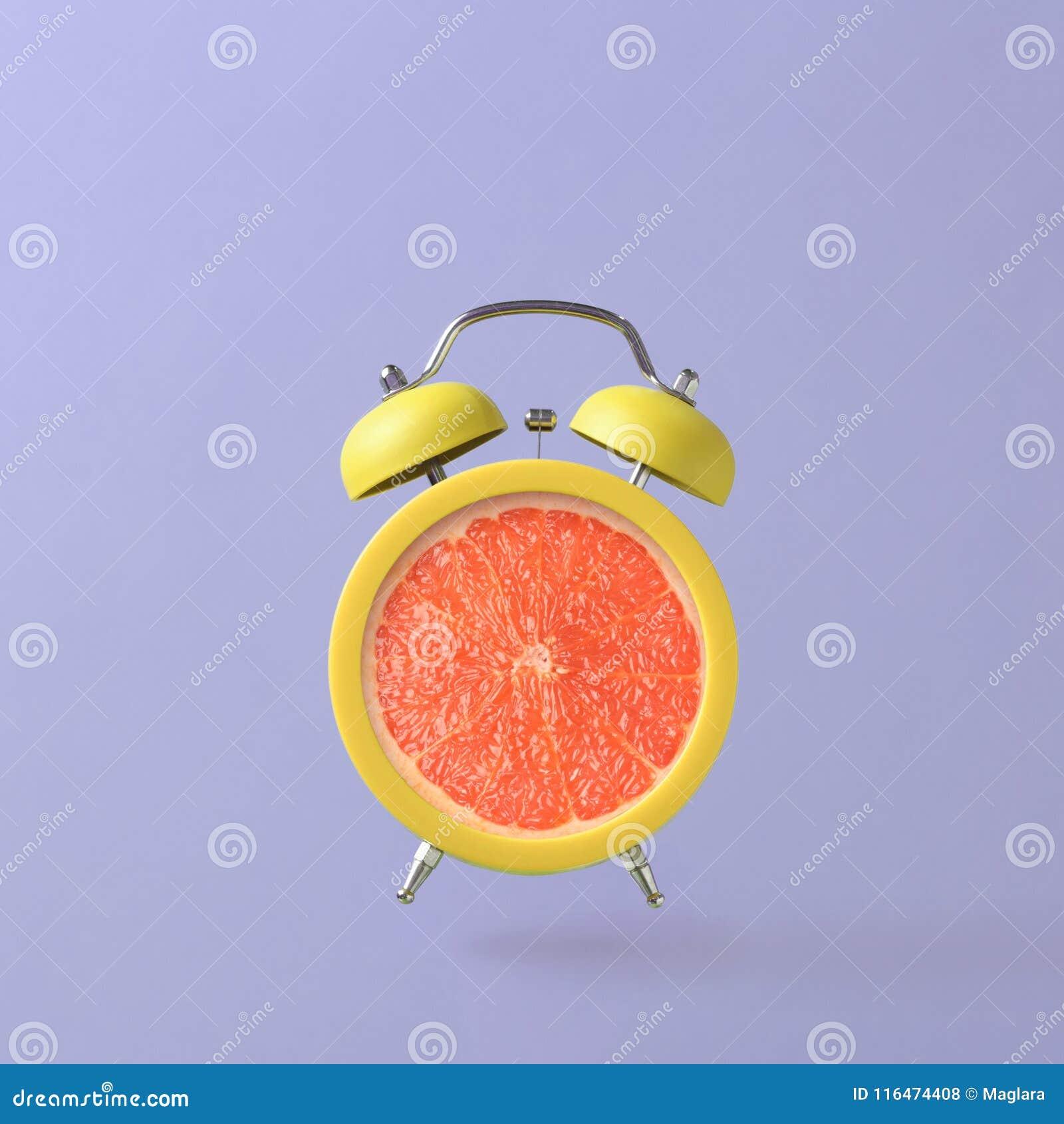Despertador con el pomelo