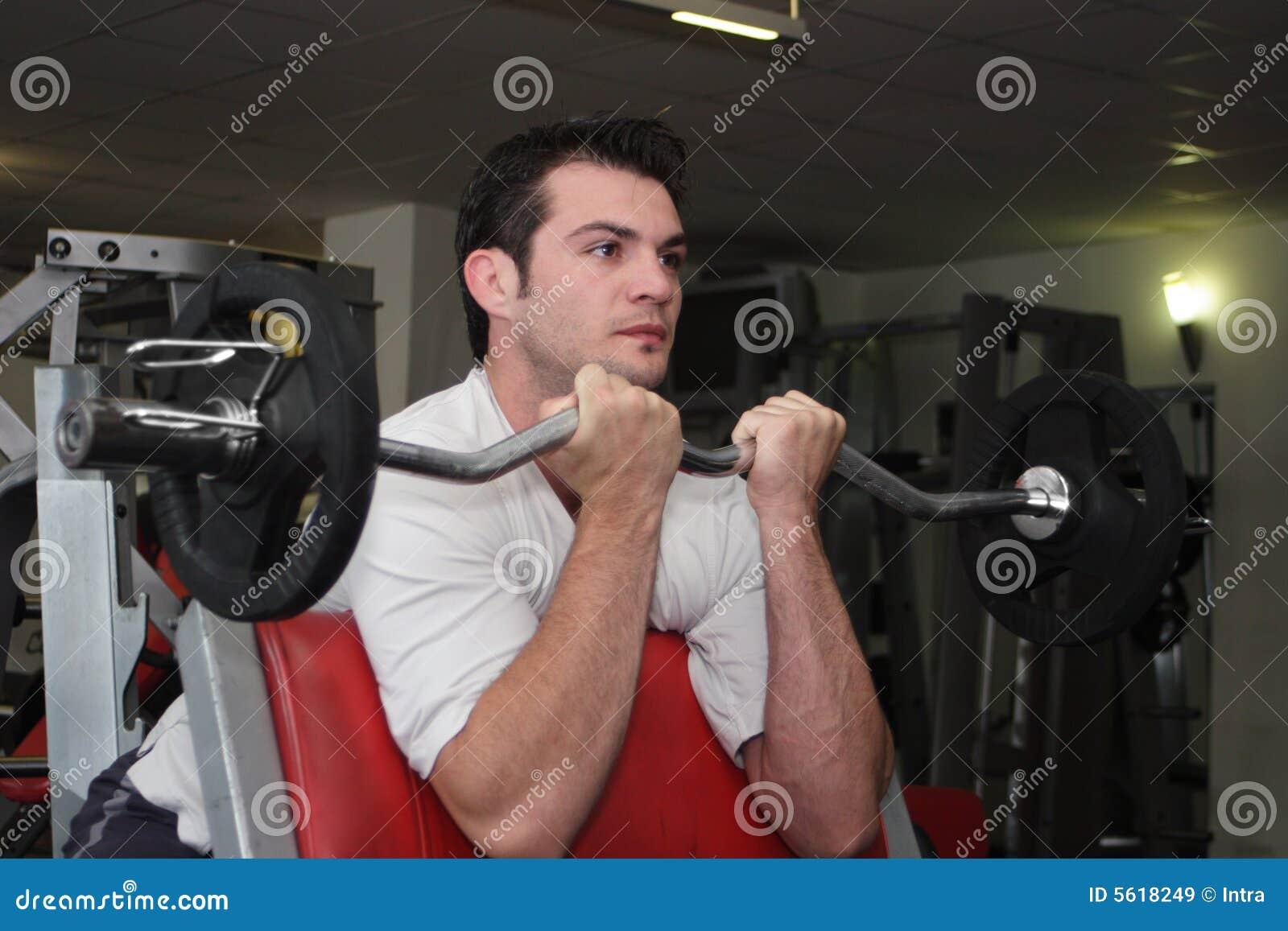 Desportista na ginástica 1