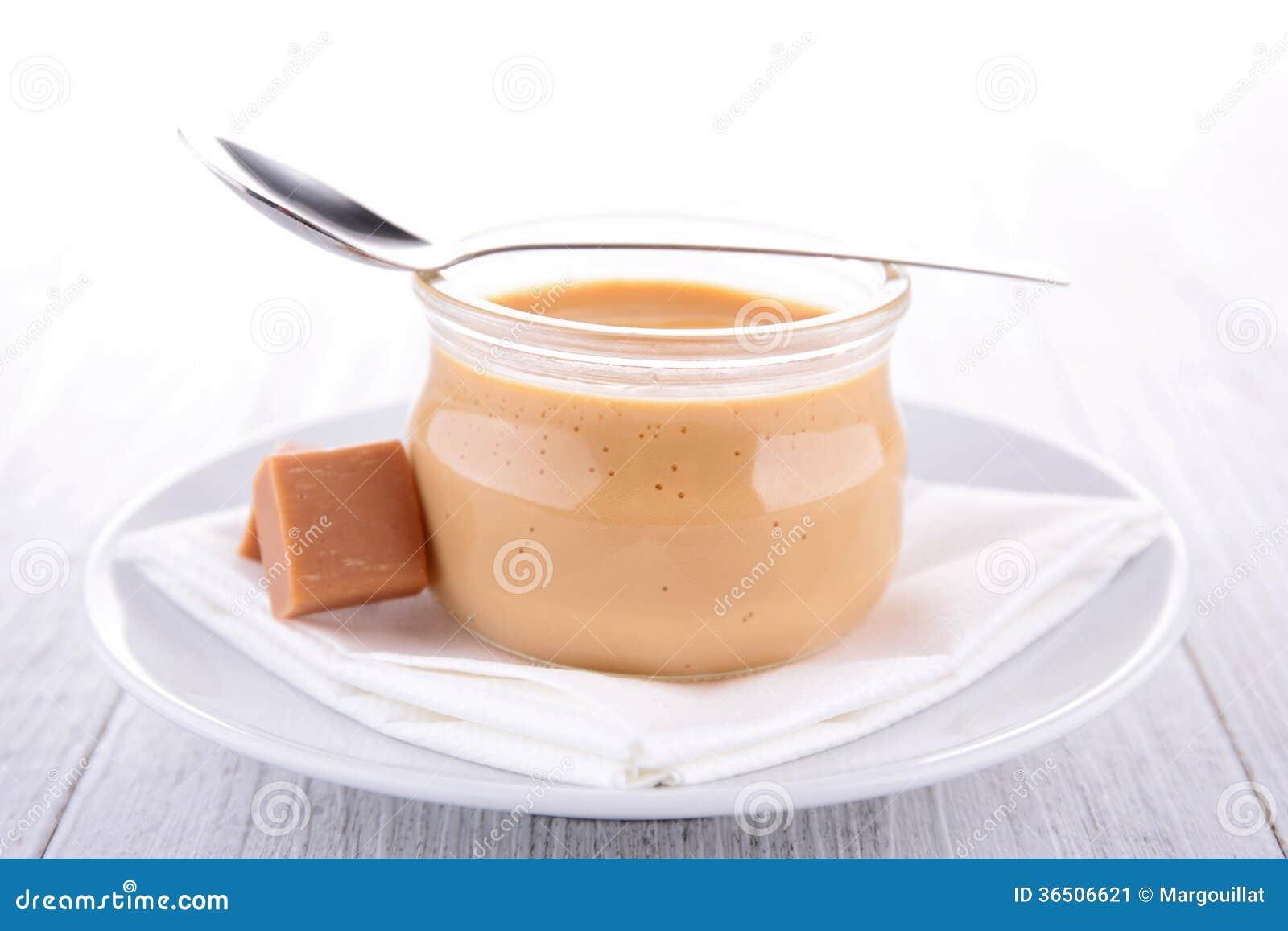 Dessert à la crème de caramel