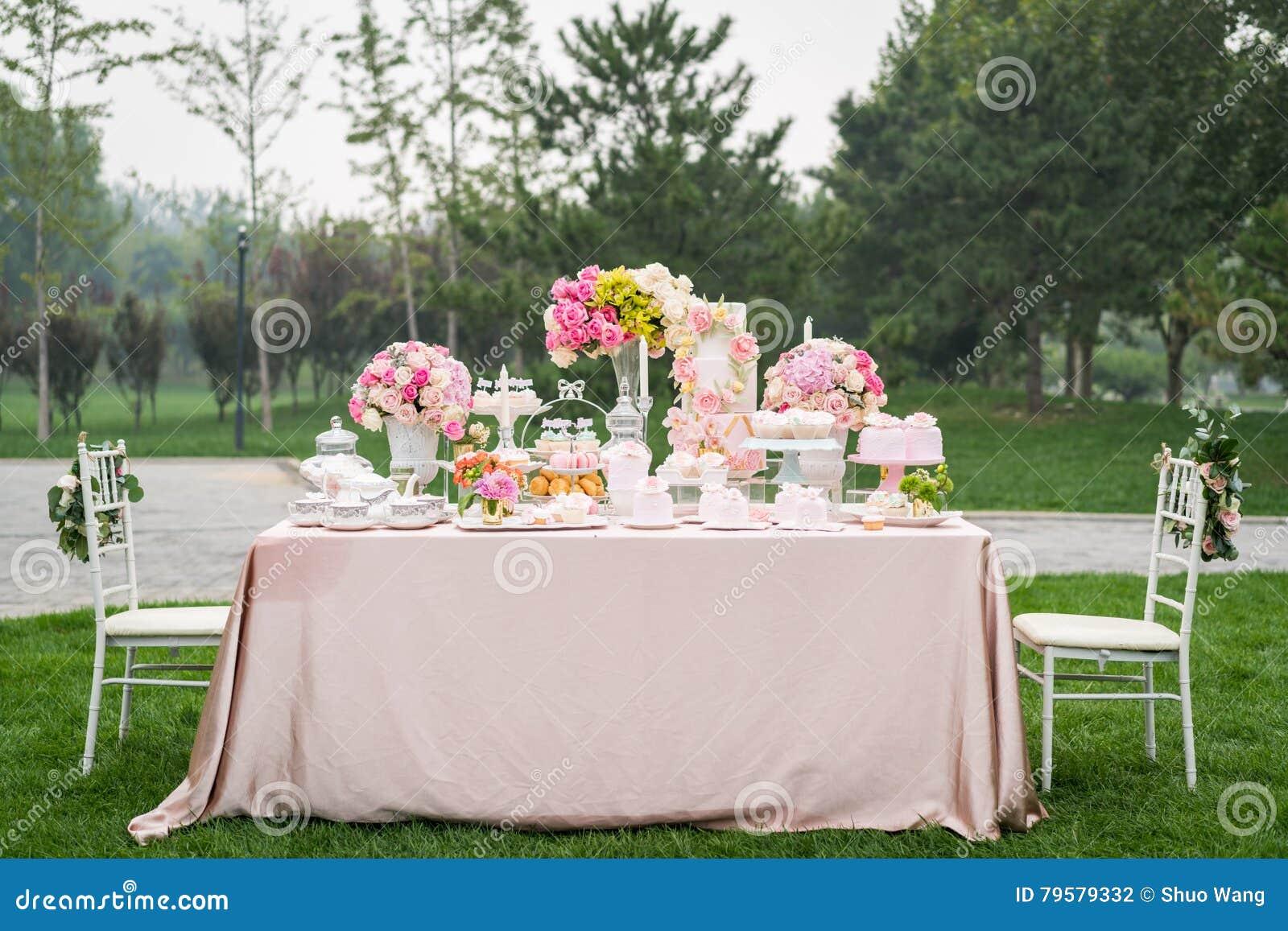 Dessert au mariage