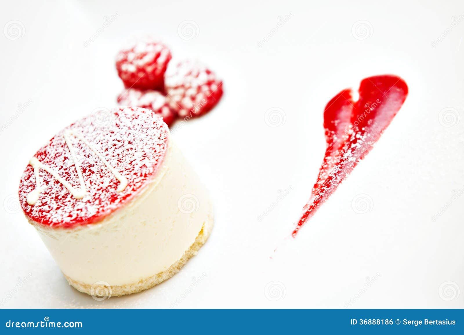 Download Dessert Con RaspberriesSmall Fotografia Stock - Immagine di glassa, bacca: 36888186