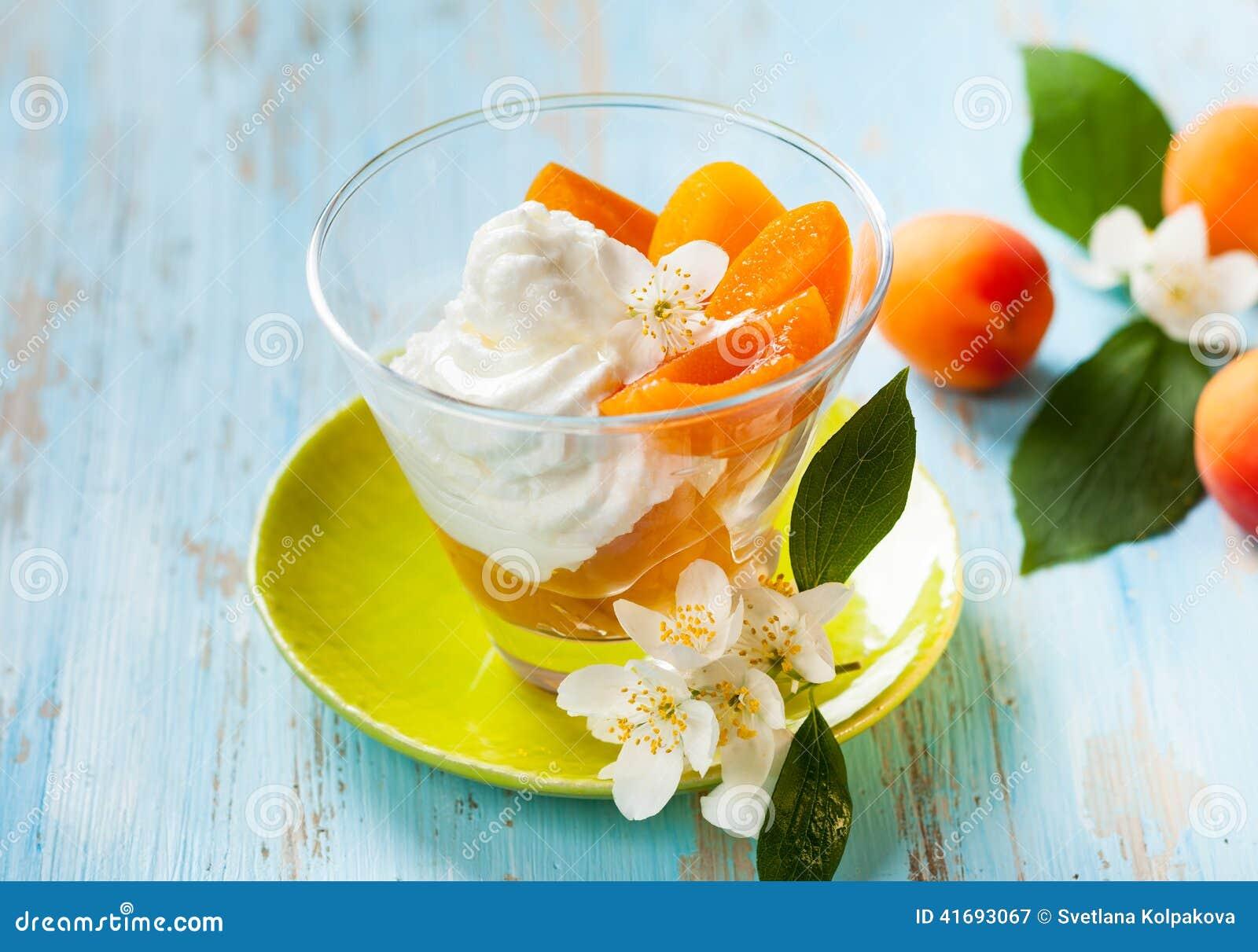Dessert d abricot