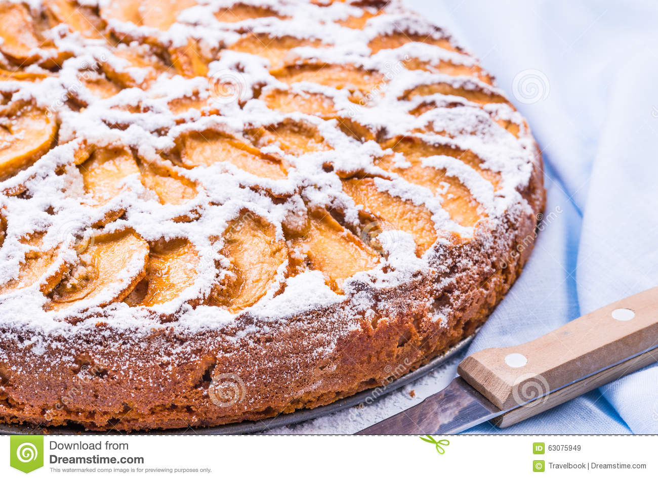 Download Dessert De Tarte Aux Pommes Gâteau De Fruit Image stock - Image du fruit, cuit: 63075949