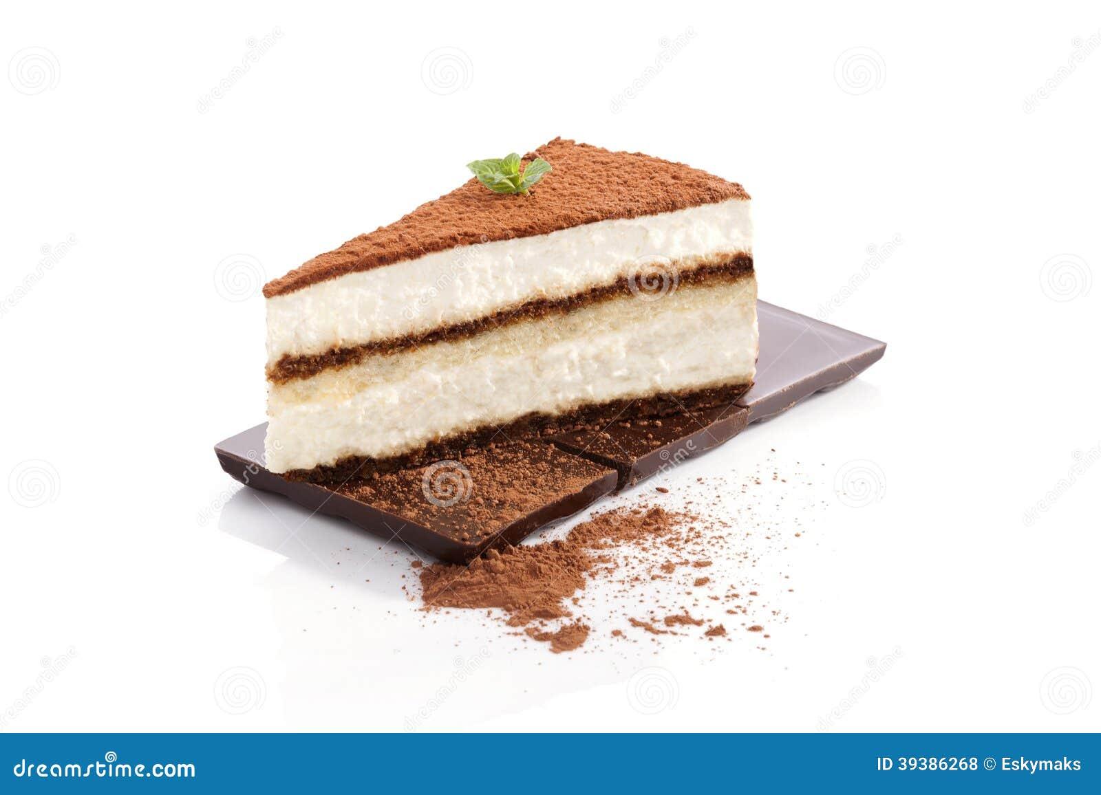 Dessert di tiramisù.