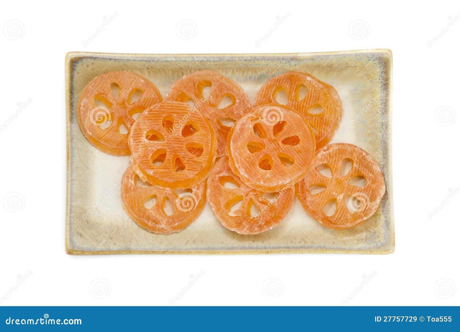 Dessert doux de pièce de Bael sur le paraboloïde