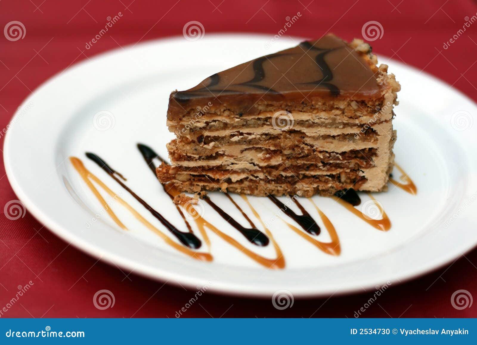 Dessertfancy cake stock photo Image of food dark frosting 2534730