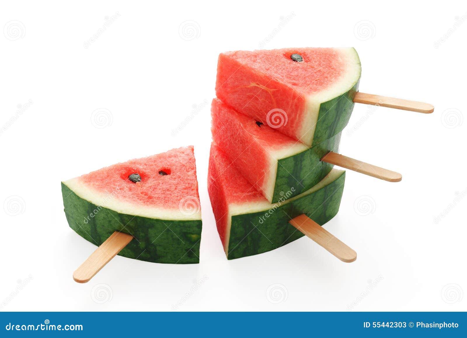 dessert frais délicieux de bonbon à fruit d'été de glace à l'eau de