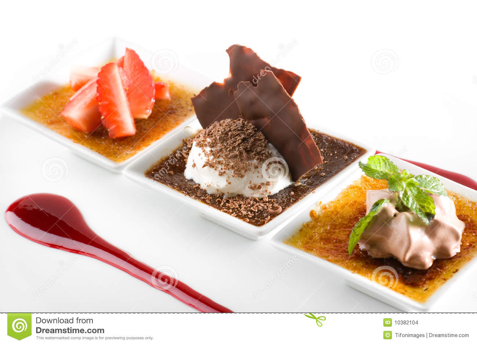 Dessert gastronomico