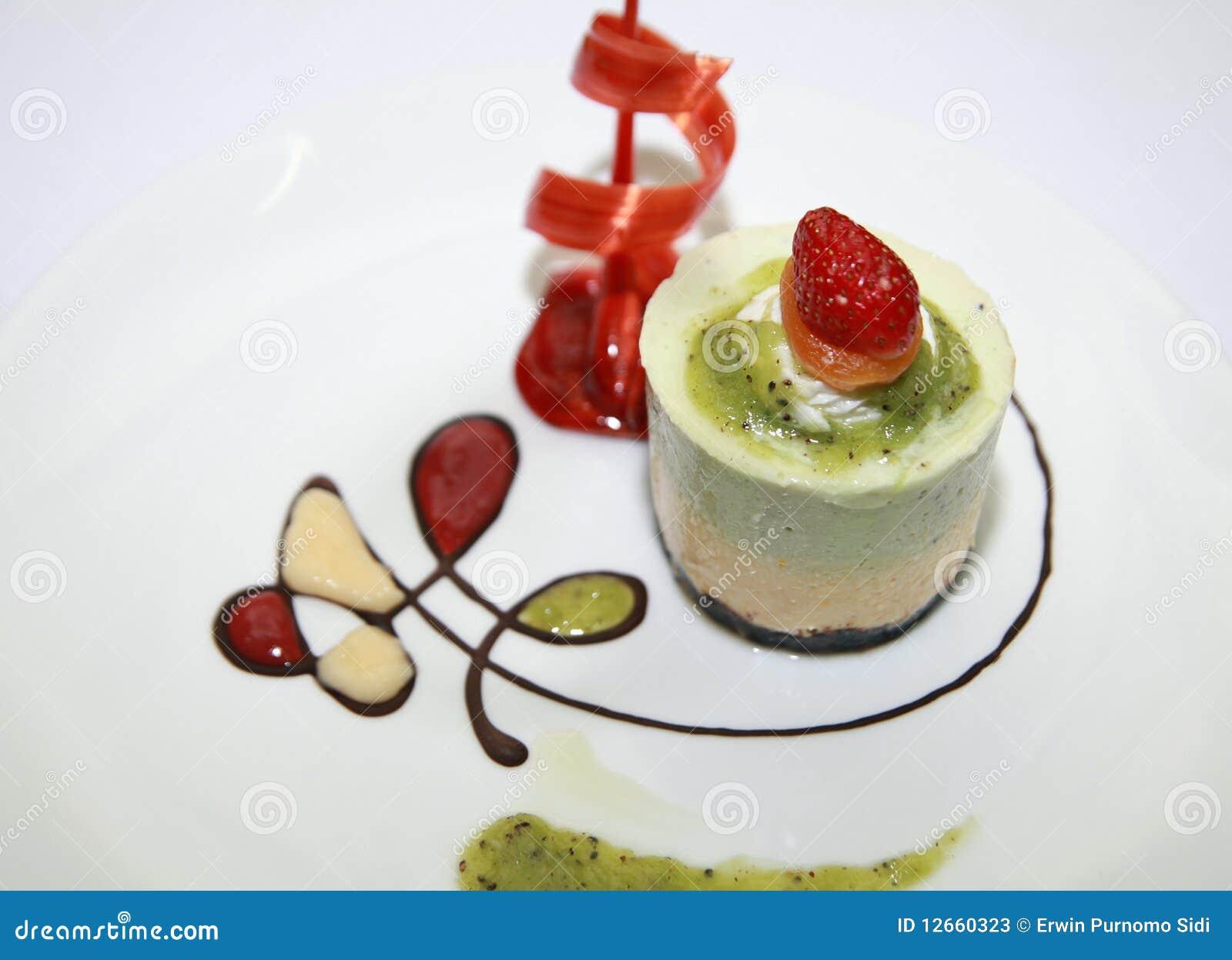 Dessert Mouse Cake Royalty Free Stock Photos - Image: 12660288