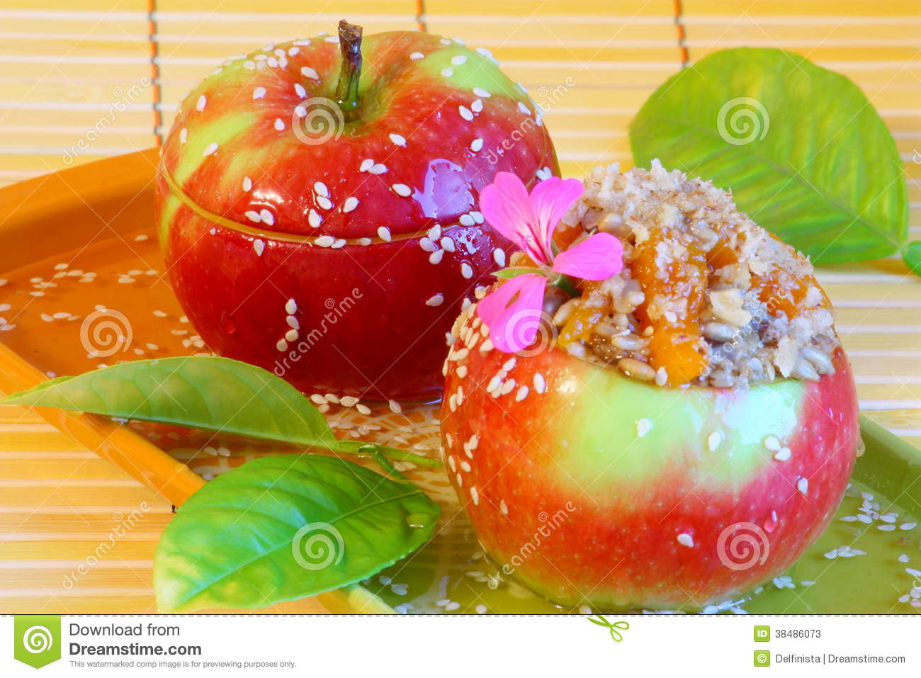Dessert Picture Candy Apples Stock Photos Stock Image Image Of